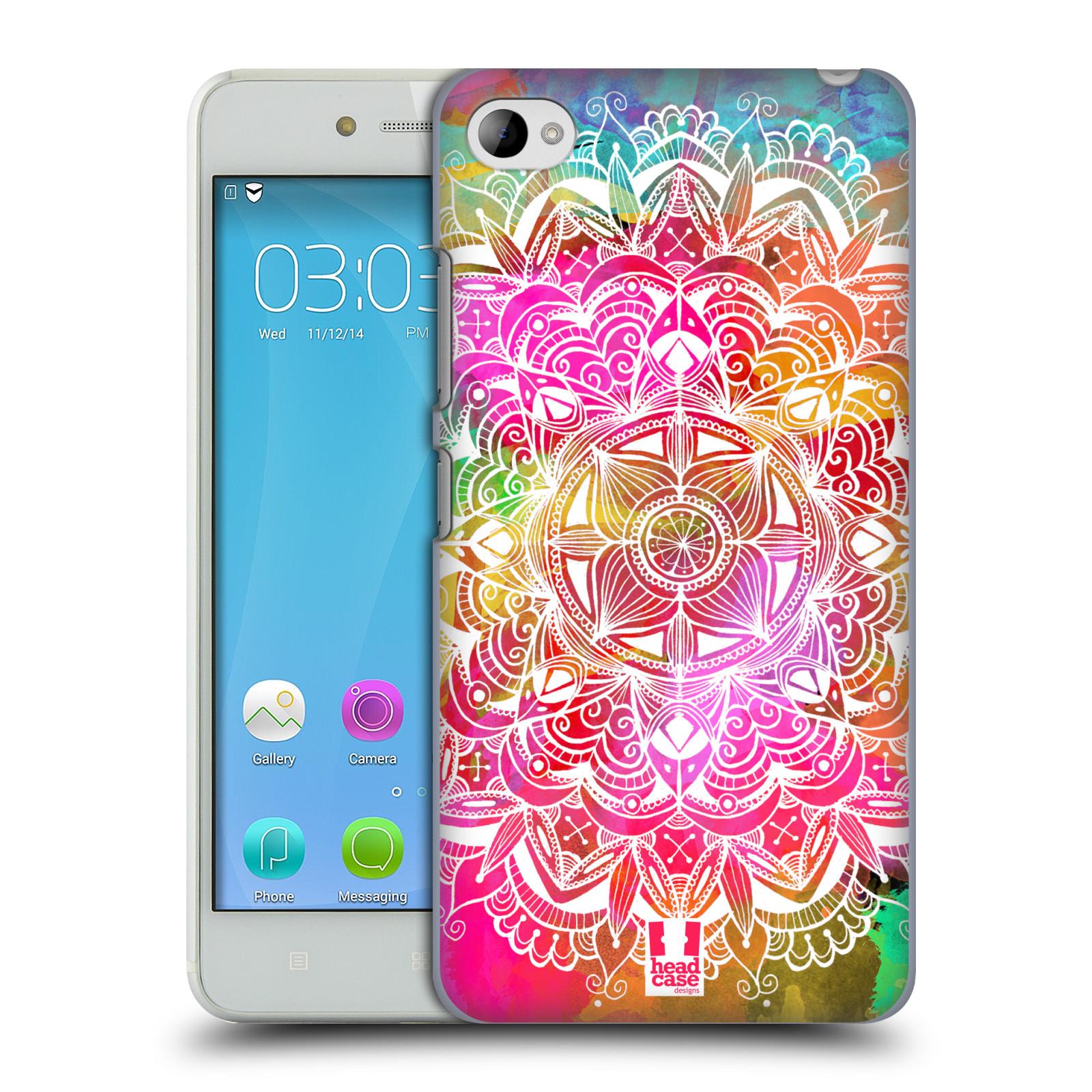 Plastové pouzdro na mobil Lenovo S90 HEAD CASE Mandala Doodle Watercolour (Kryt či obal na mobilní telefon Lenovo S90)