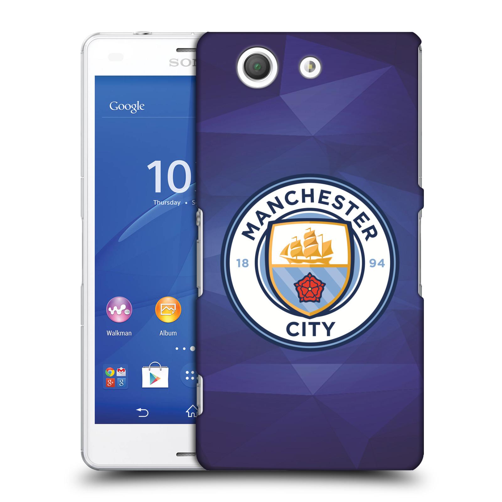 Plastové pouzdro na mobil Sony Xperia Z3 Compact D5803 HEAD CASE Manchester City FC - Modré nové logo