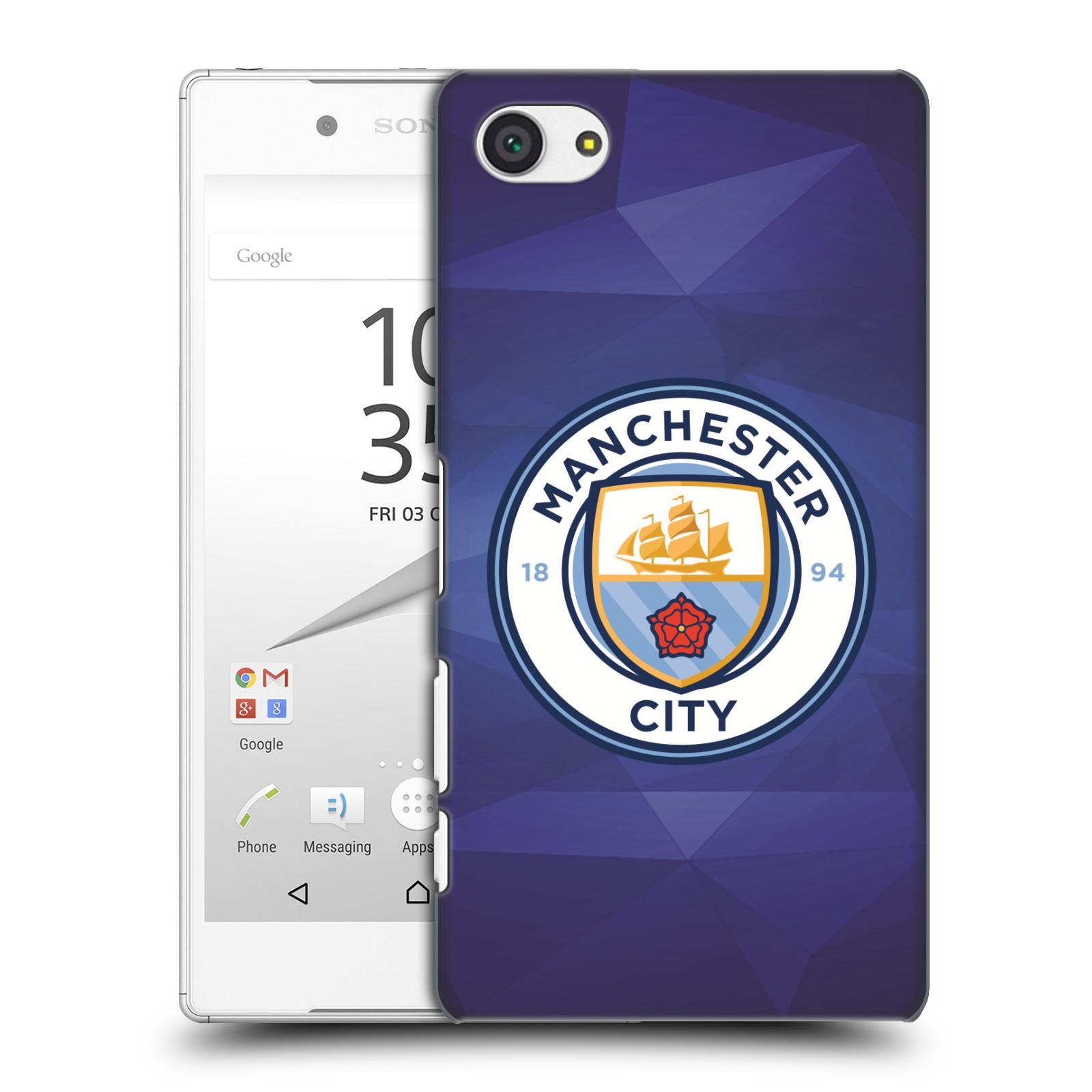 Plastové pouzdro na mobil Sony Xperia Z5 Compact HEAD CASE Manchester City FC - Modré nové logo