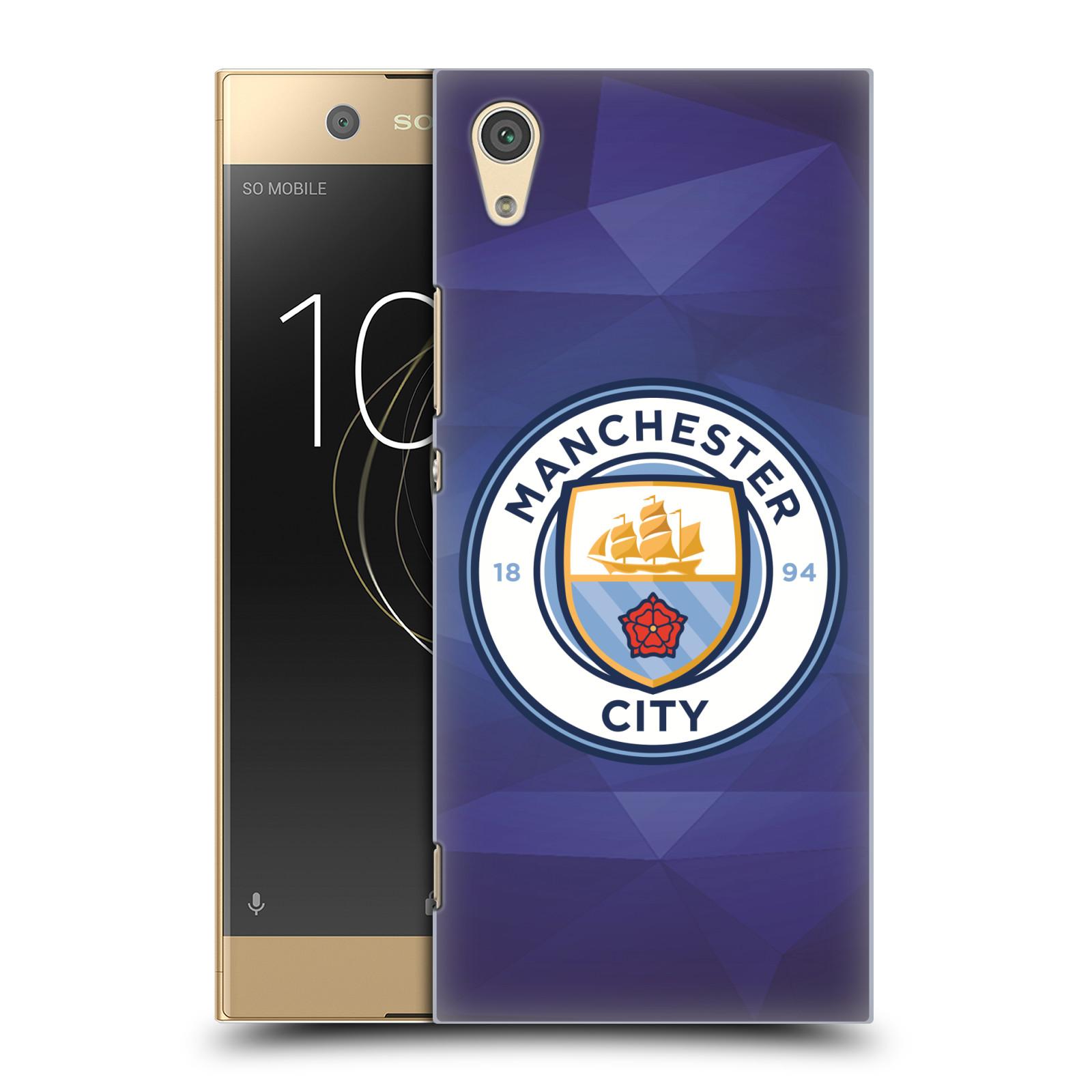 Plastové pouzdro na mobil Sony Xperia XA1 - Head Case - Manchester City FC - Modré nové logo (Plastový kryt či obal na mobilní telefon Sony Xperia XA1 G3121 s motivem Manchester City FC - Modré nové logo)