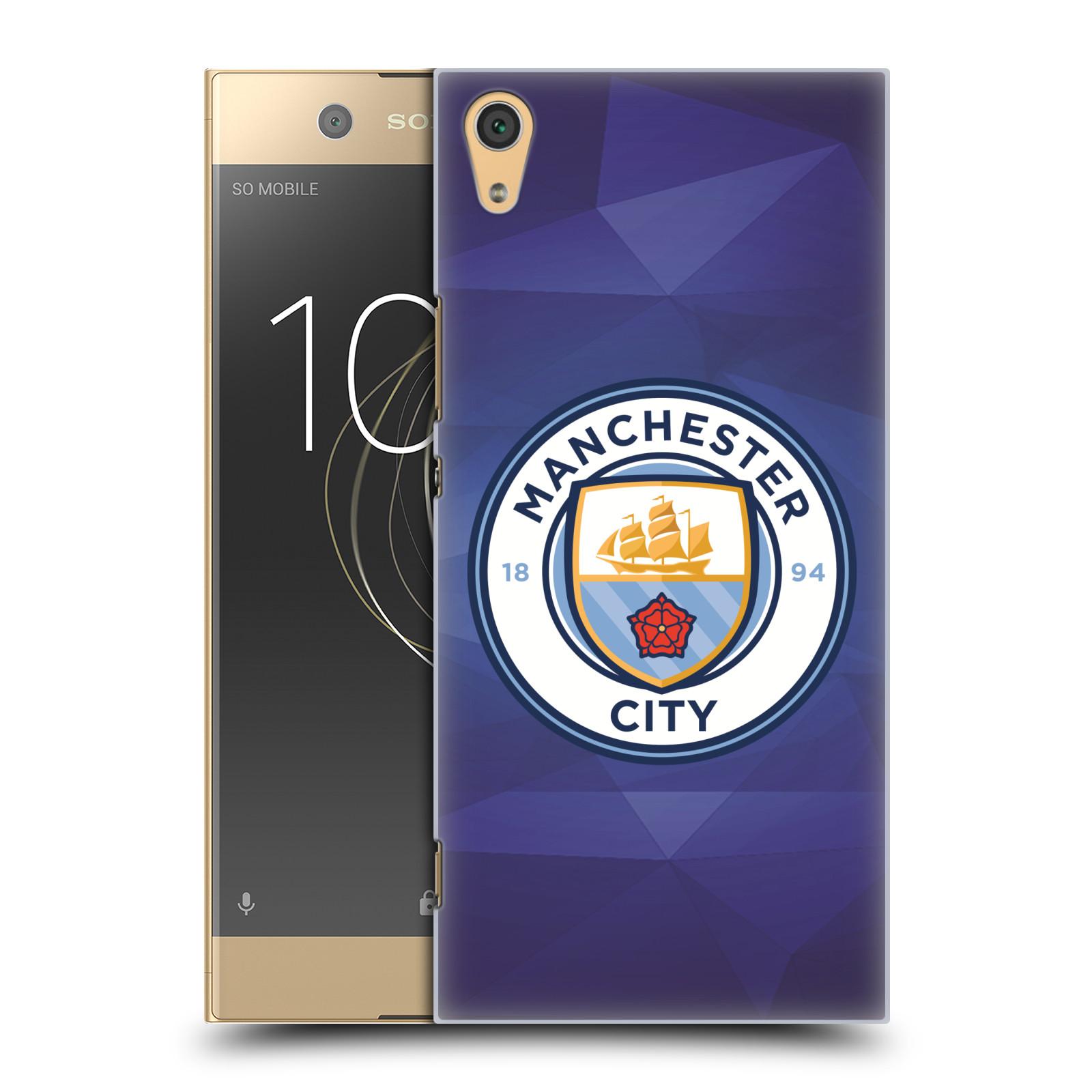 Plastové pouzdro na mobil Sony Xperia XA1 Ultra - Head Case - Manchester City FC - Modré nové logo (Plastový kryt či obal na mobilní telefon Sony Xperia XA1 Ultra G3221 s motivem Manchester City FC - Modré nové logo)