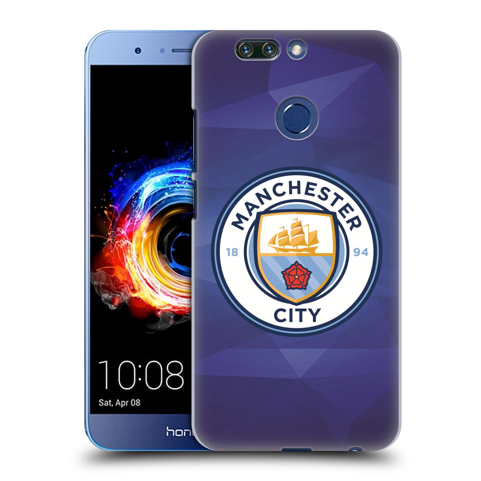 Plastové pouzdro na mobil Honor 8 Pro - Head Case - Manchester City FC - Modré nové logo (Plastový kryt či obal na mobilní telefon Honor 8 Pro s motivem Manchester City FC - Modré nové logo)