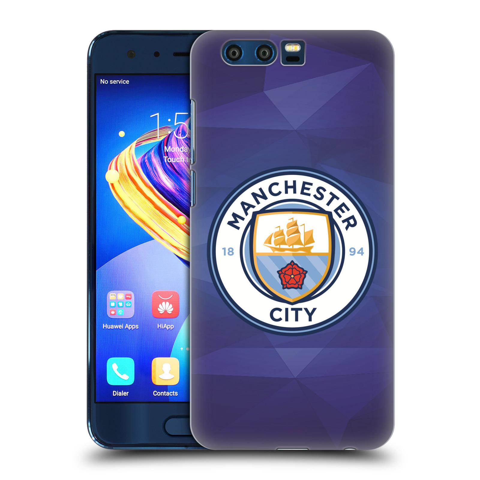 Plastové pouzdro na mobil Honor 9 - Head Case - Manchester City FC - Modré nové logo (Plastový kryt či obal na mobilní telefon Honor 9 s motivem Manchester City FC - Modré nové logo)