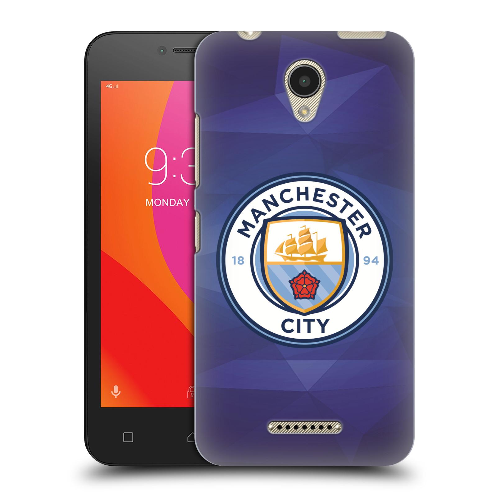 Plastové pouzdro na mobil Lenovo B - Head Case - Manchester City FC - Modré nové logo (Plastový kryt či obal na mobilní telefon Lenovo B s motivem Manchester City FC - Modré nové logo)