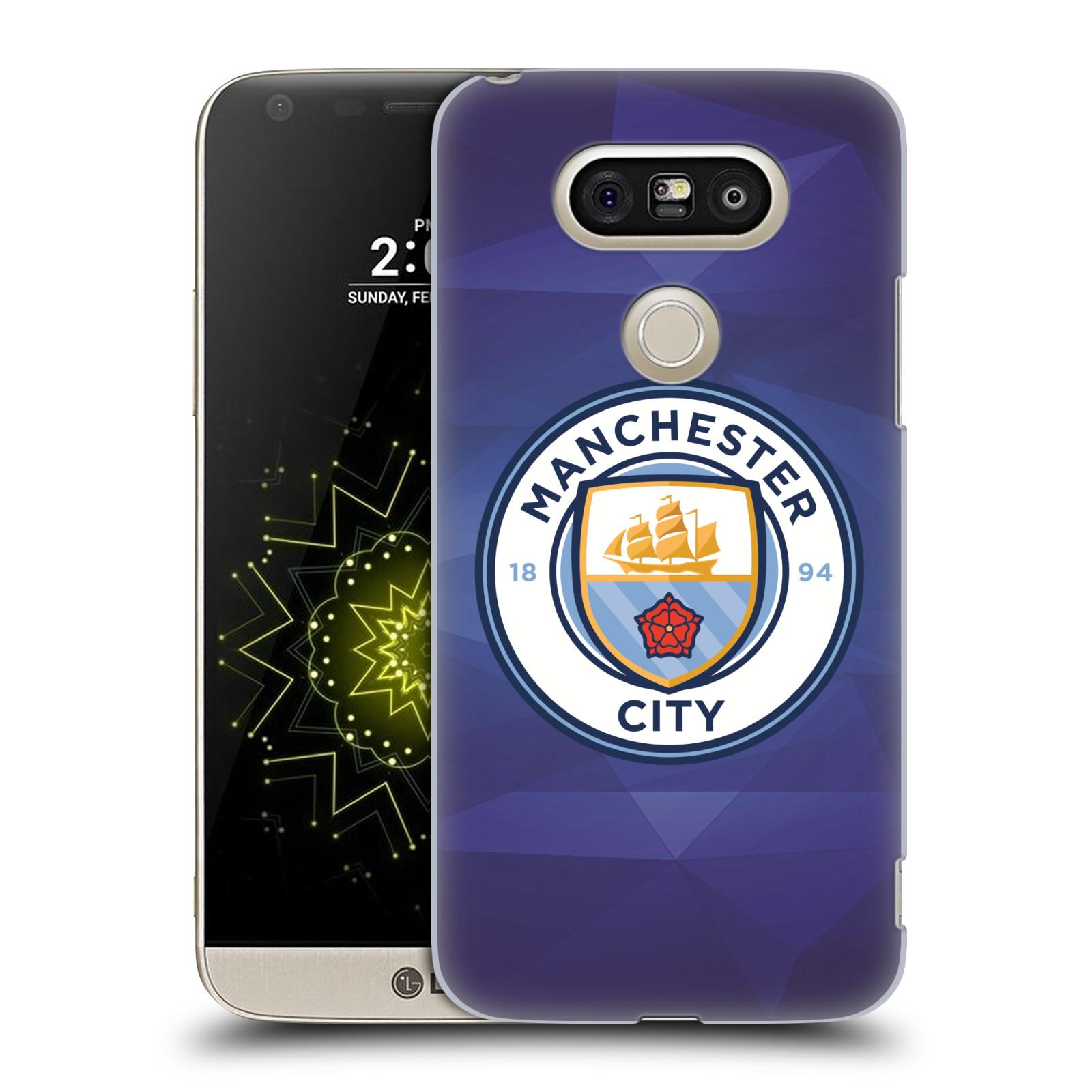 Plastové pouzdro na mobil LG G5 SE - Head Case - Manchester City FC - Modré nové logo (Plastový kryt či obal na mobilní telefon LG G5 SE H840 s motivem Manchester City FC - Modré nové logo)
