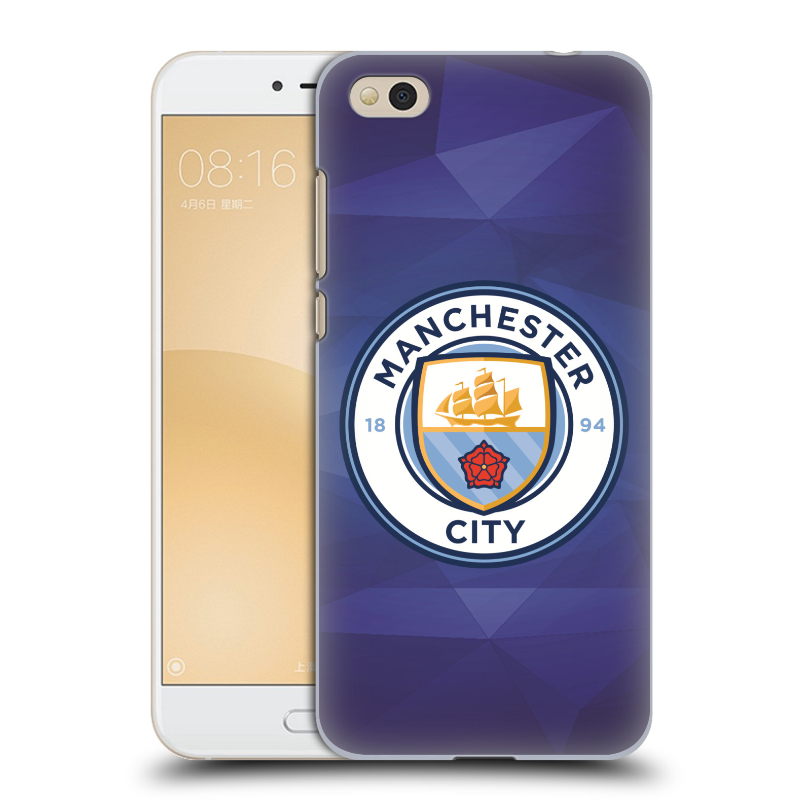 Plastové pouzdro na mobil Xiaomi Mi5c - Head Case - Manchester City FC - Modré nové logo (Plastový kryt či obal na mobilní telefon Xiaomi Mi5c s motivem Manchester City FC - Modré nové logo)