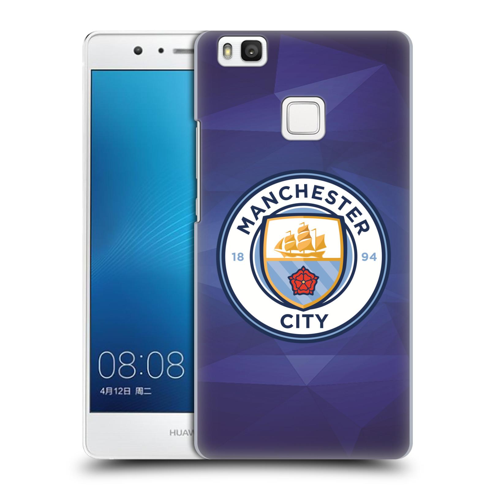 Plastové pouzdro na mobil Huawei P9 Lite HEAD CASE Manchester City FC - Modré nové logo