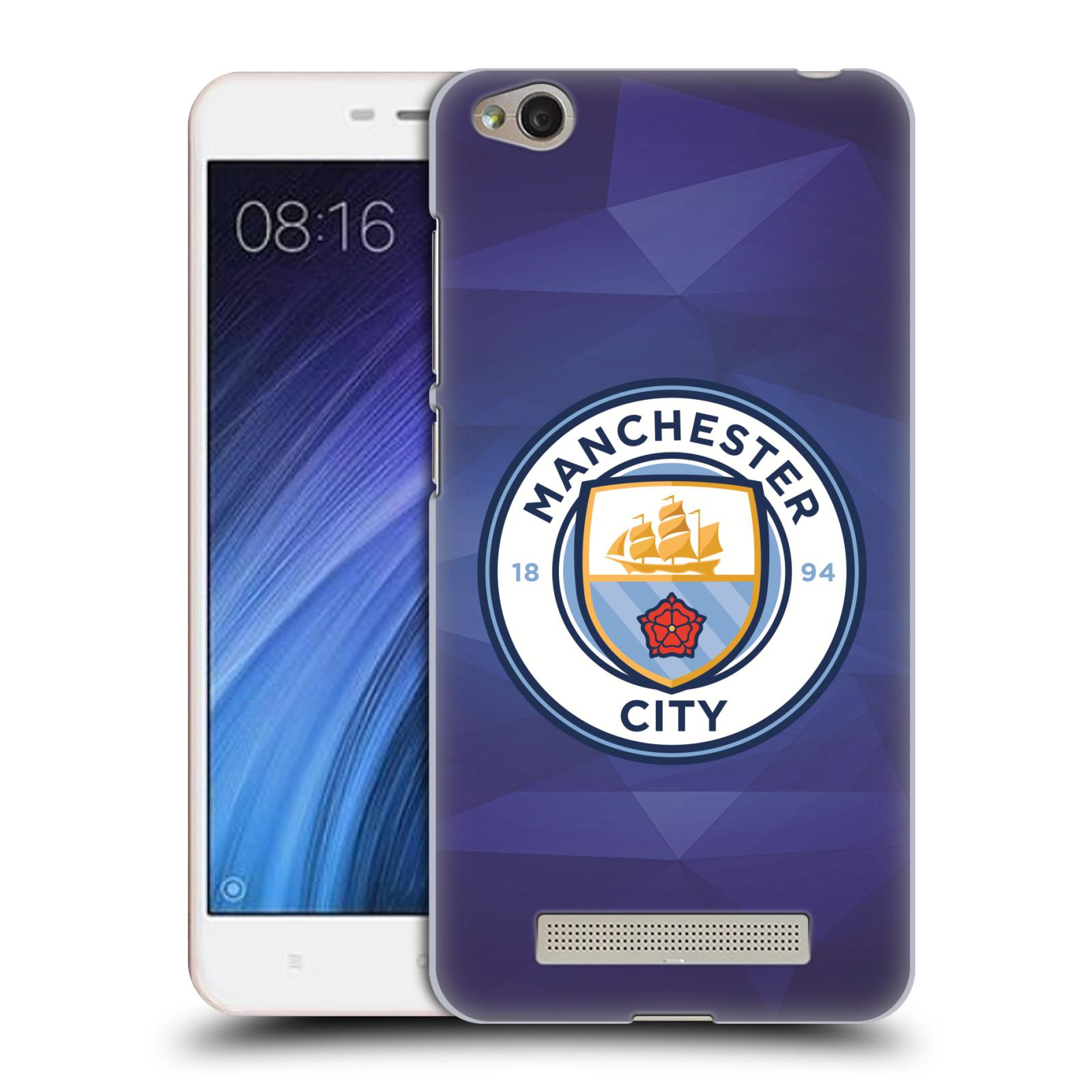 Plastové pouzdro na mobil Xiaomi Redmi 4A HEAD CASE Manchester City FC - Modré nové logo