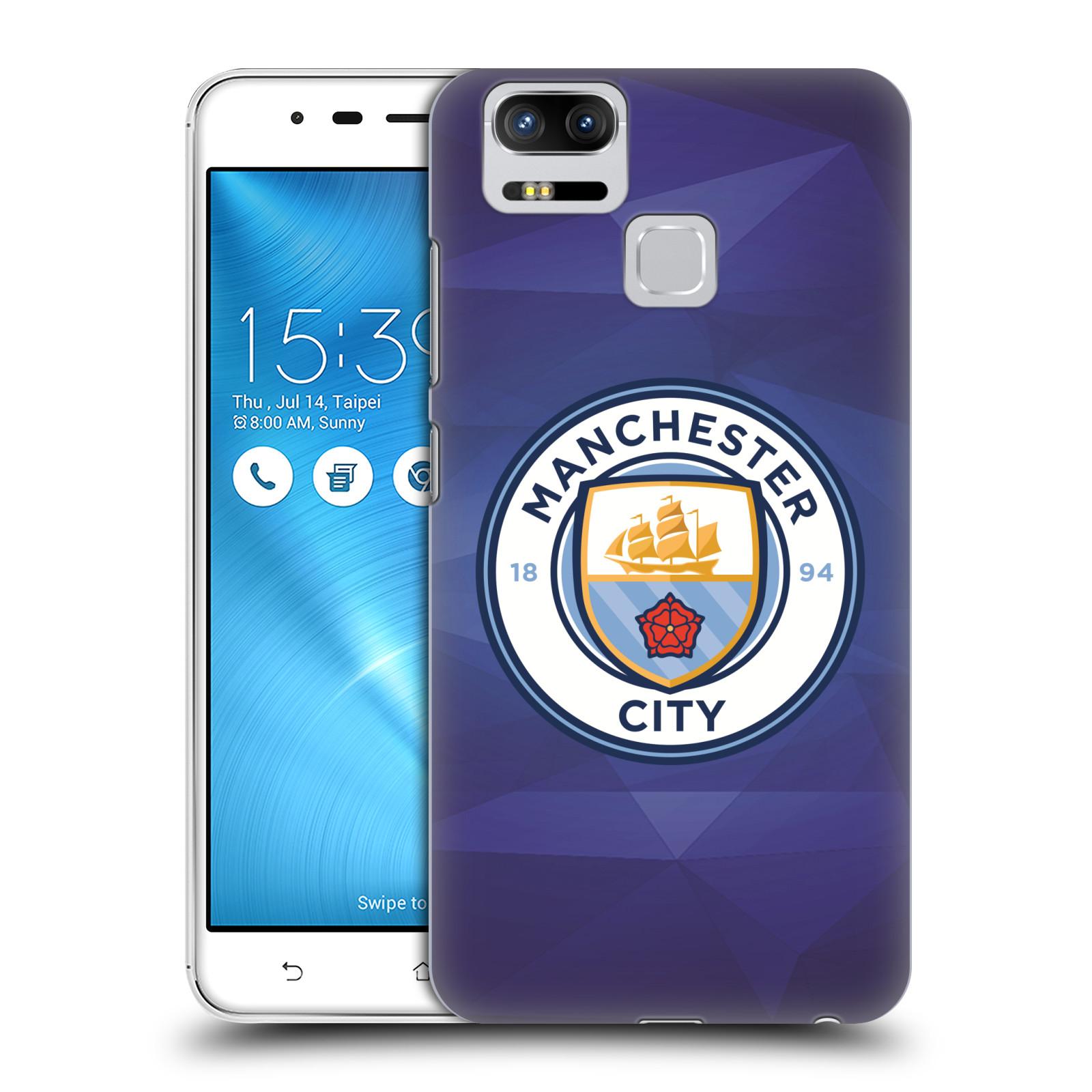 Plastové pouzdro na mobil Asus ZenFone 3 ZOOM ZE553KL - Head Case - Manchester City FC - Modré nové logo (Plastový kryt či obal na mobilní telefon Asus ZenFone 3 ZOOM ZE553KL s motivem Manchester City FC - Modré nové logo)