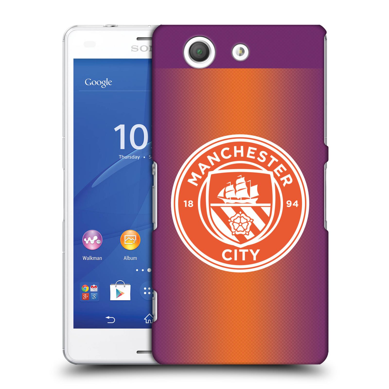 Plastové pouzdro na mobil Sony Xperia Z3 Compact D5803 HEAD CASE Manchester City FC - Oranžové nové logo