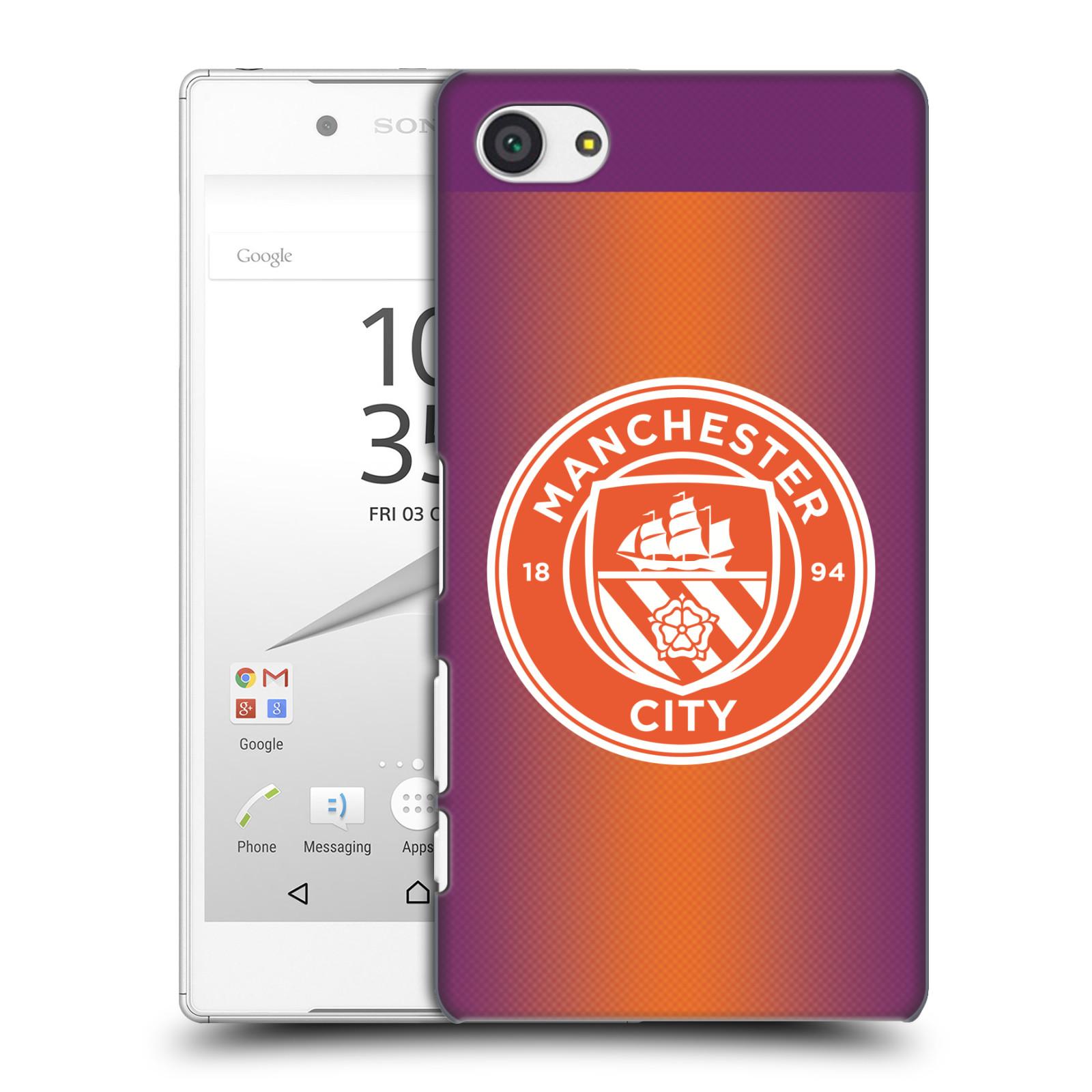 Plastové pouzdro na mobil Sony Xperia Z5 Compact HEAD CASE Manchester City FC - Oranžové nové logo