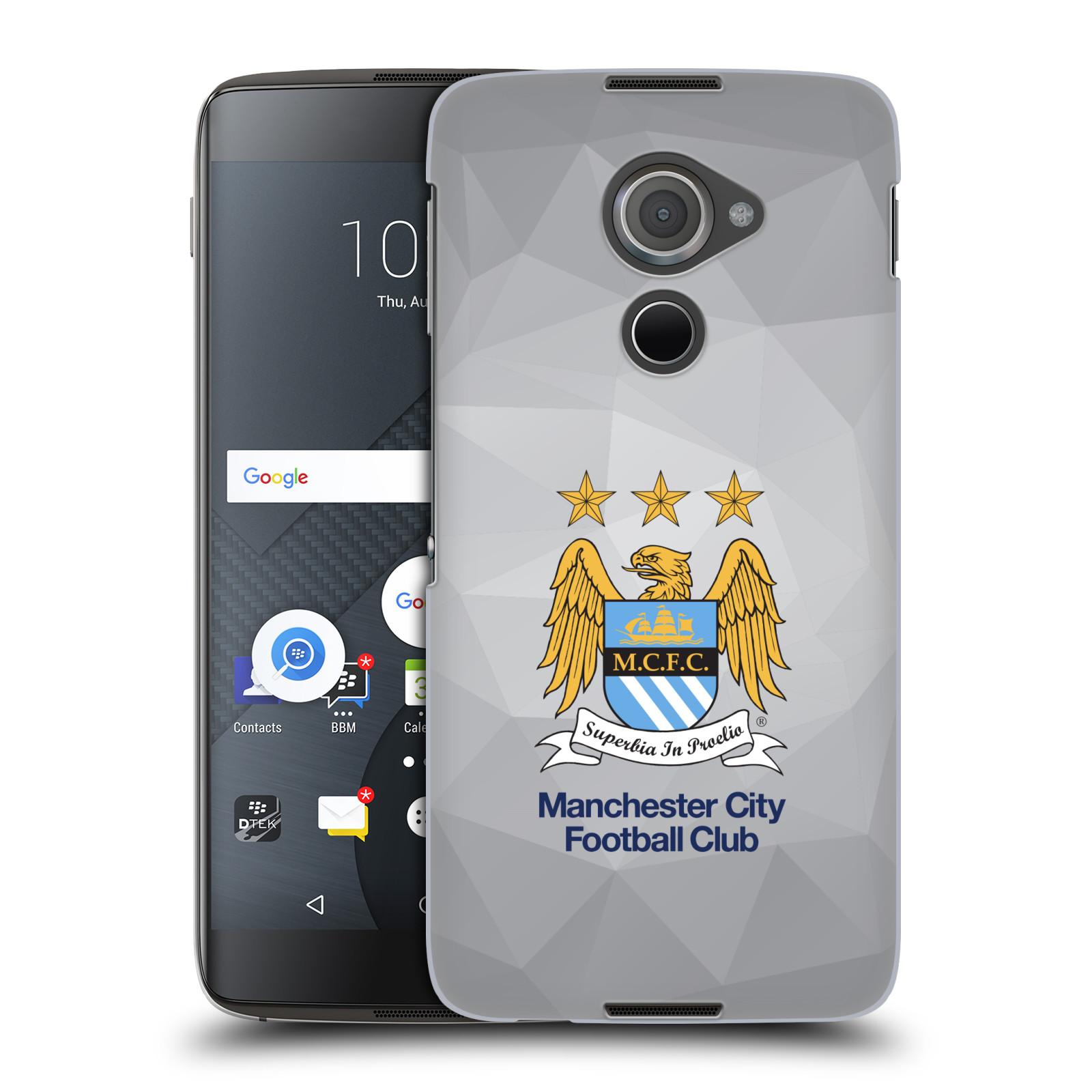 Plastové pouzdro na mobil Blackberry DTEK60 (Argon) - Head Case Manchester City FC - Football Club
