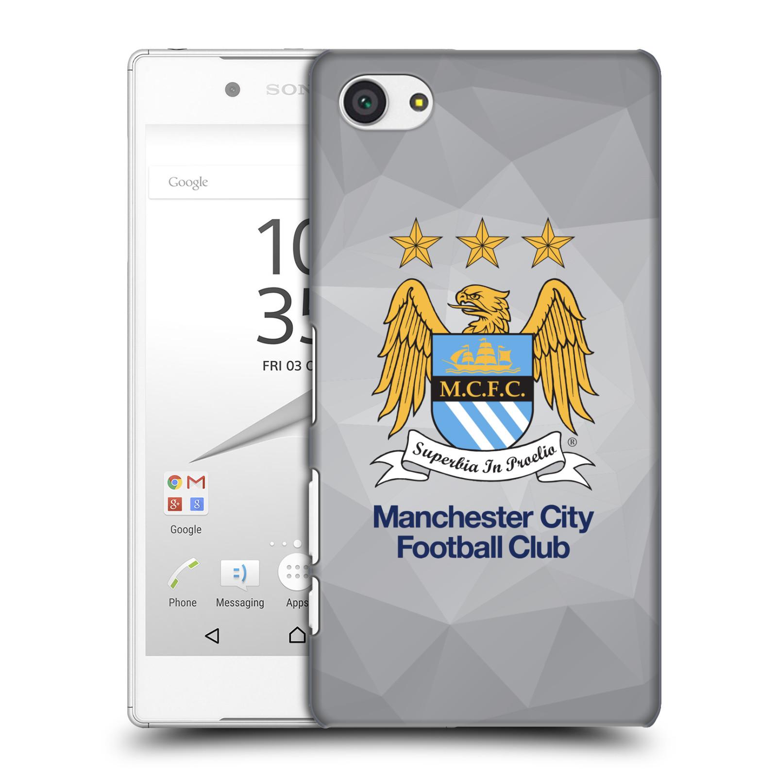 Plastové pouzdro na mobil Sony Xperia Z5 Compact HEAD CASE Manchester City FC - Football Club
