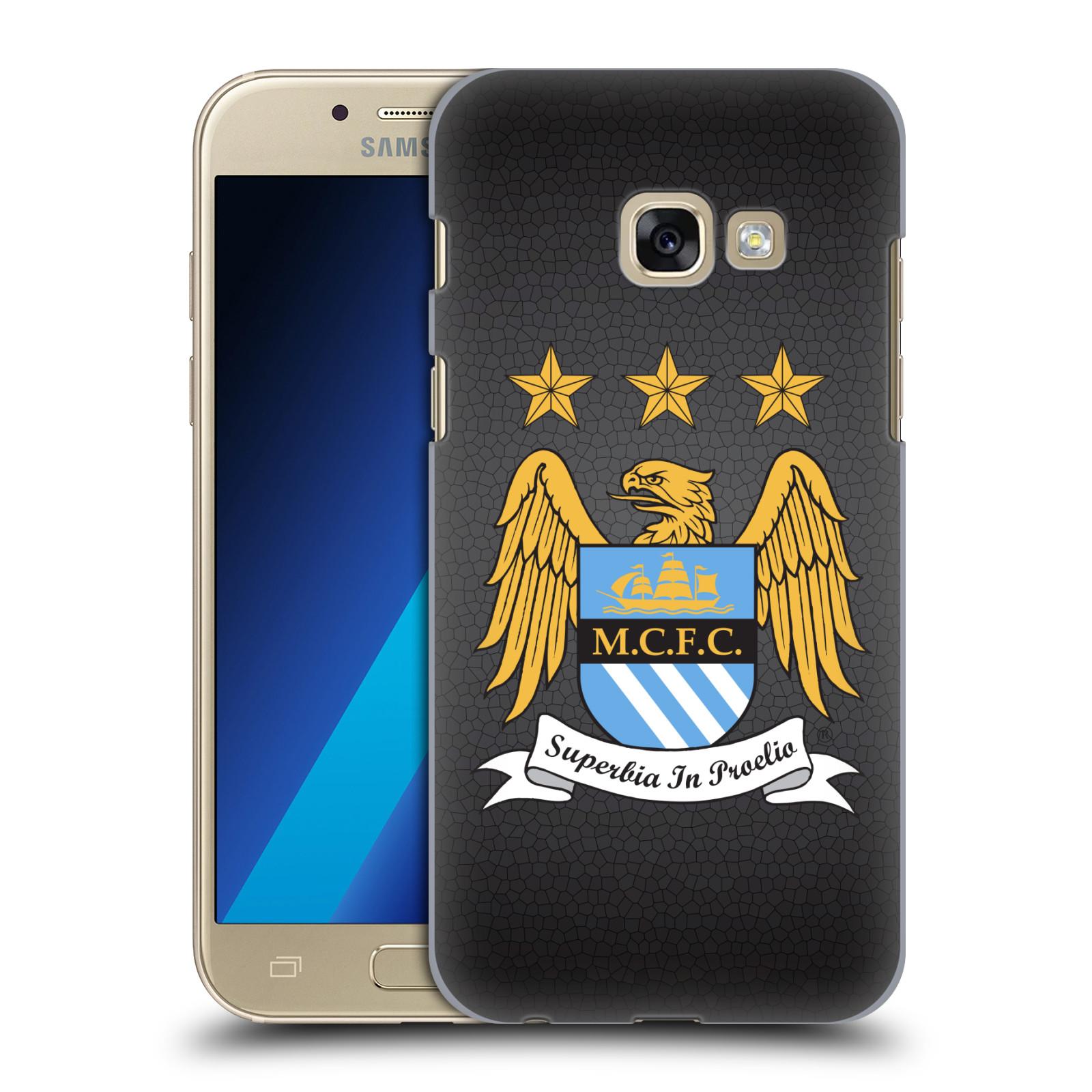 Plastové pouzdro na mobil Samsung Galaxy A3 (2017) HEAD CASE Manchester City FC - Superbia In Proelio