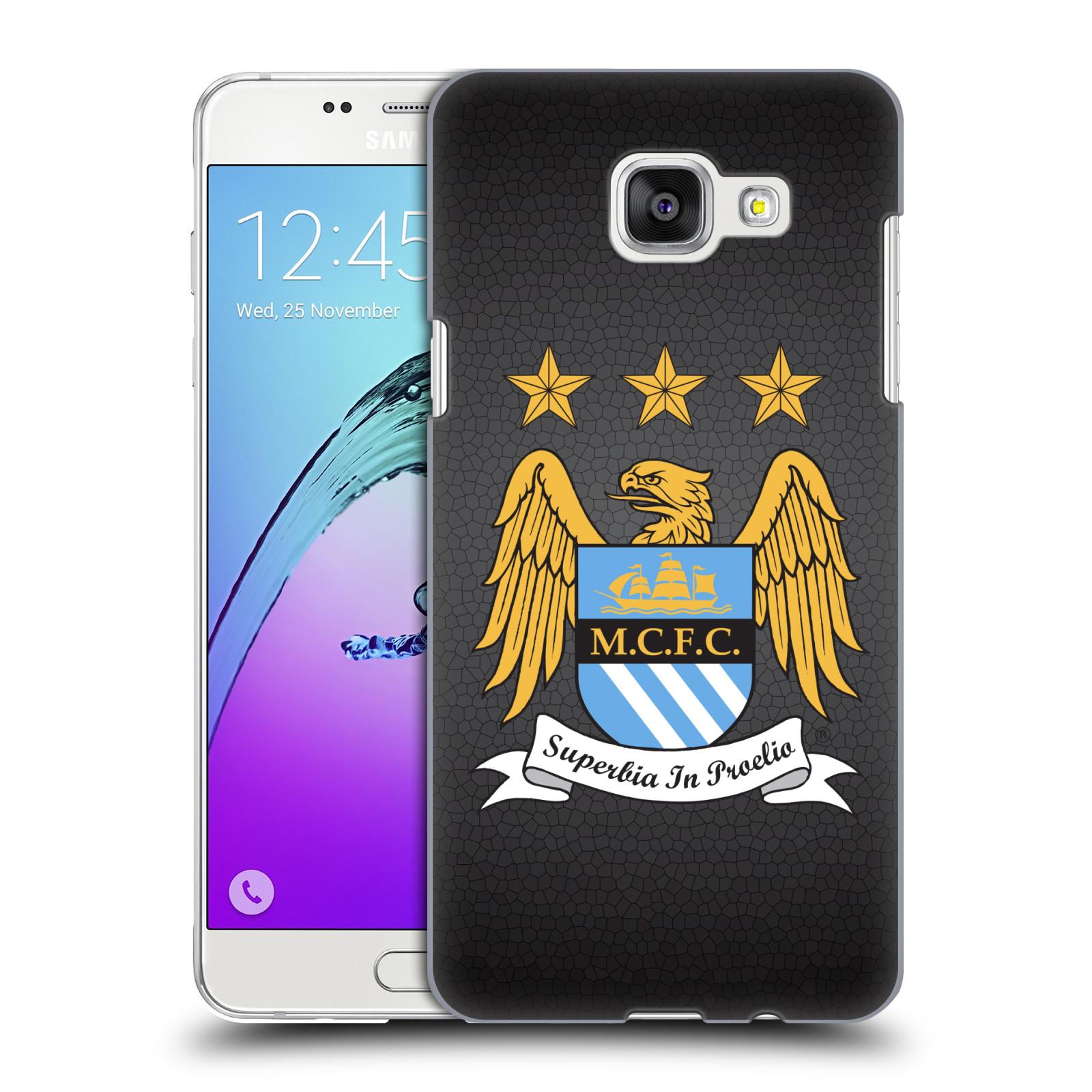 Plastové pouzdro na mobil Samsung Galaxy A5 (2016) HEAD CASE Manchester City FC - Superbia In Proelio