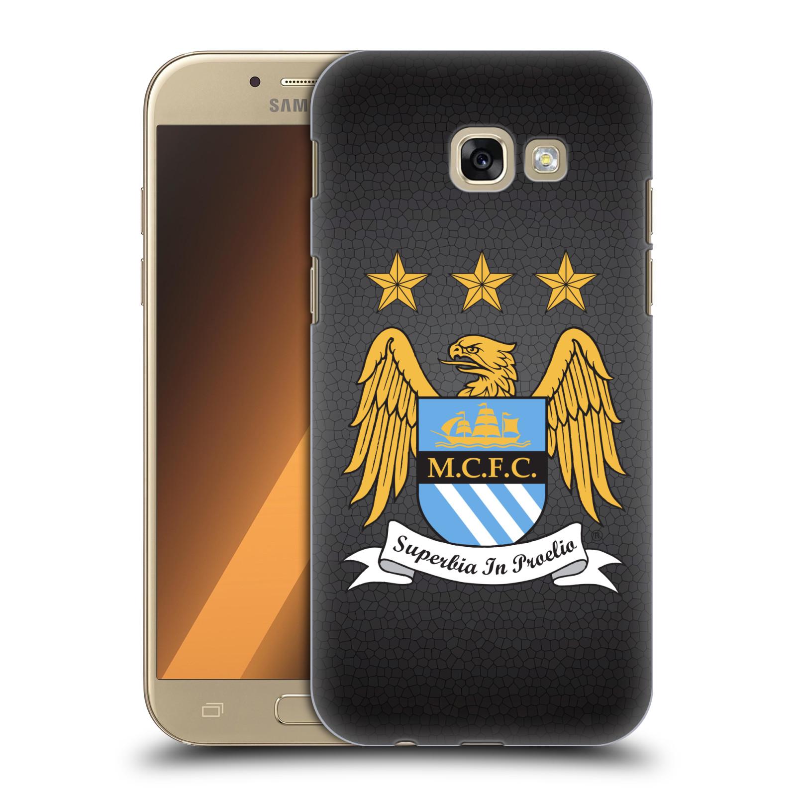Plastové pouzdro na mobil Samsung Galaxy A5 (2017) HEAD CASE Manchester City FC - Superbia In Proelio