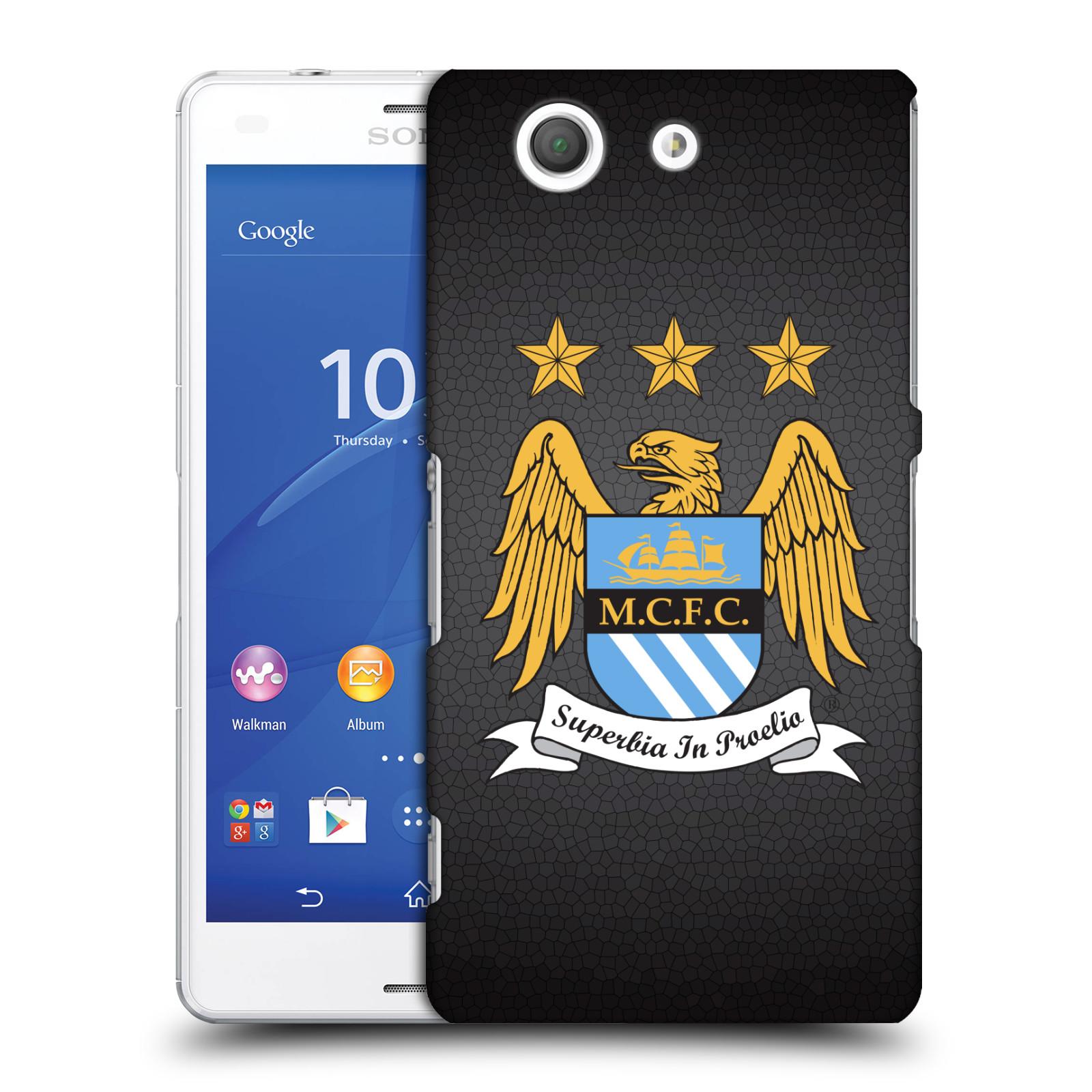 Plastové pouzdro na mobil Sony Xperia Z3 Compact D5803 HEAD CASE Manchester City FC - Superbia In Proelio