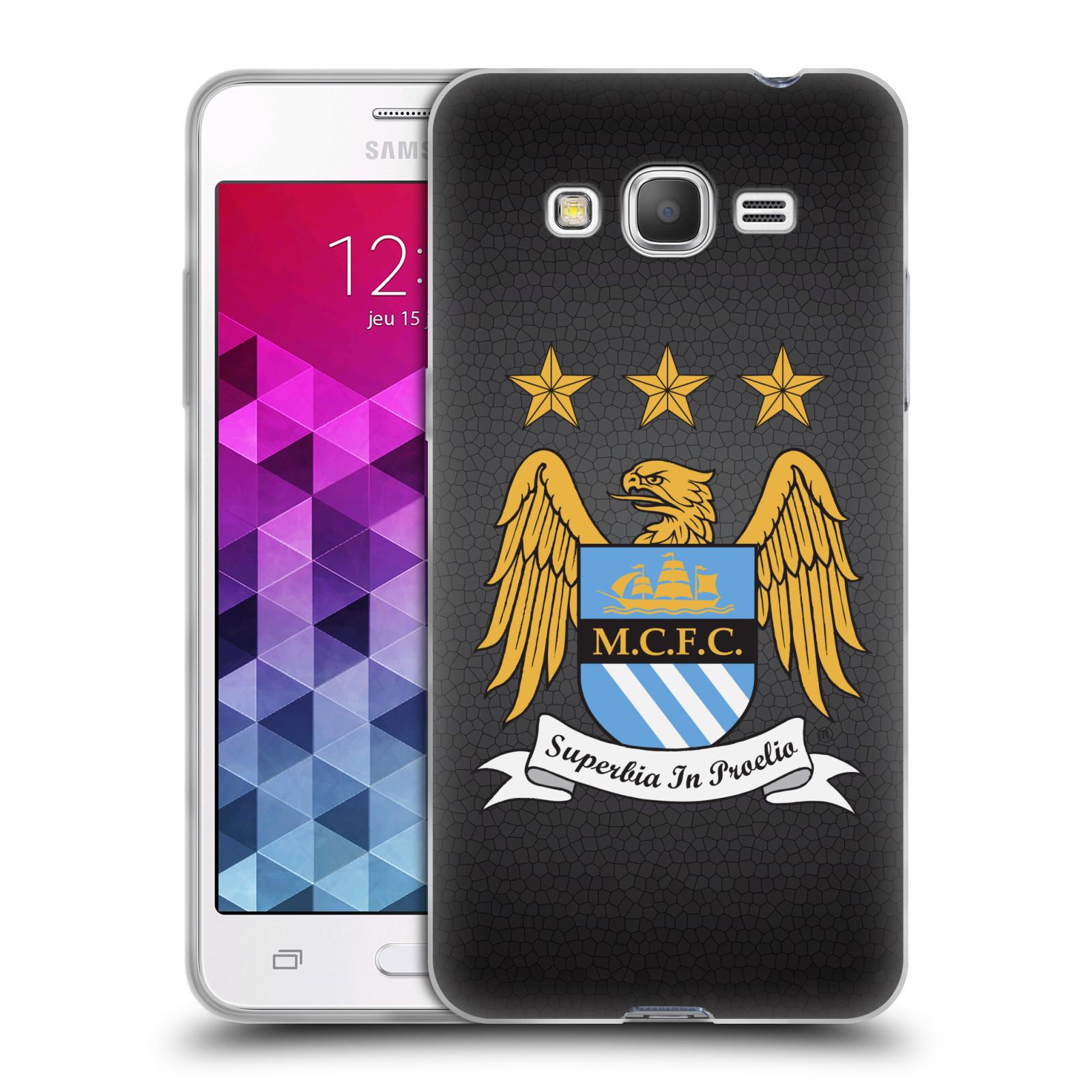 Silikonové pouzdro na mobil Samsung Galaxy Grand Prime HEAD CASE Manchester City FC - Superbia In Proelio