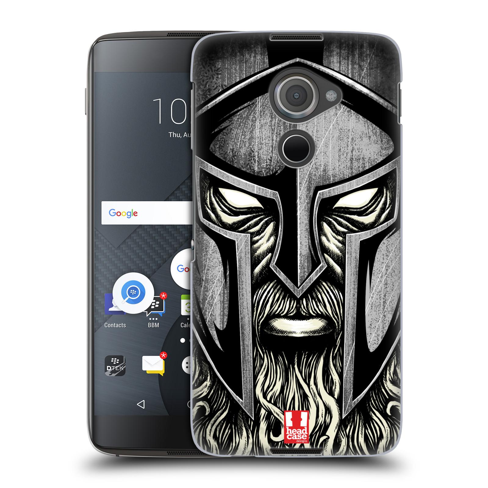 Plastové pouzdro na mobil Blackberry DTEK60 (Argon) - Head Case - Vousáč válečník (Plastový kryt či obal na mobilní telefon s motivem bojovníka pro Blackberry DTEK60 (Argon))