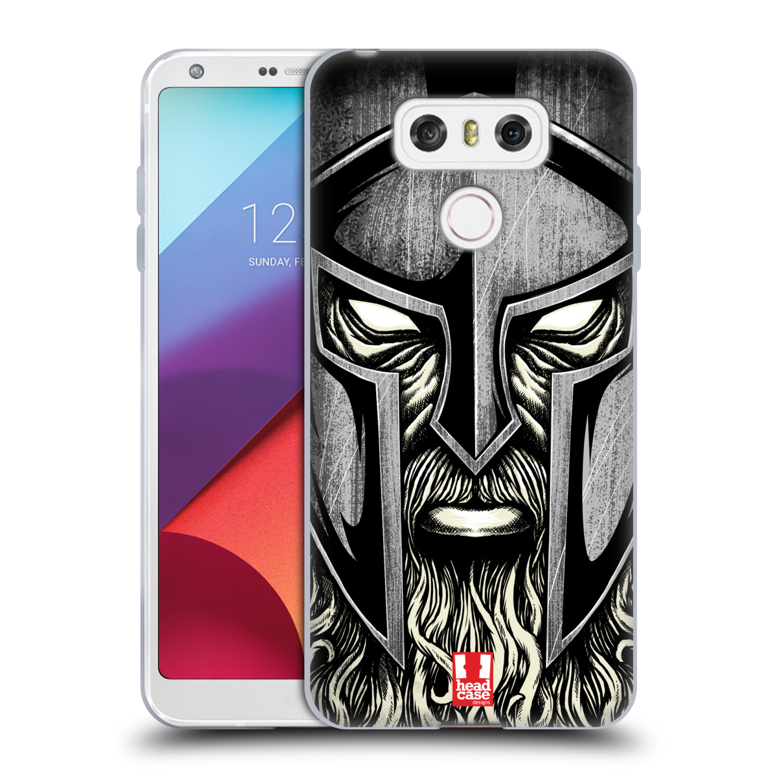 Silikonové pouzdro na mobil LG G6 - Head Case - Vousáč válečník