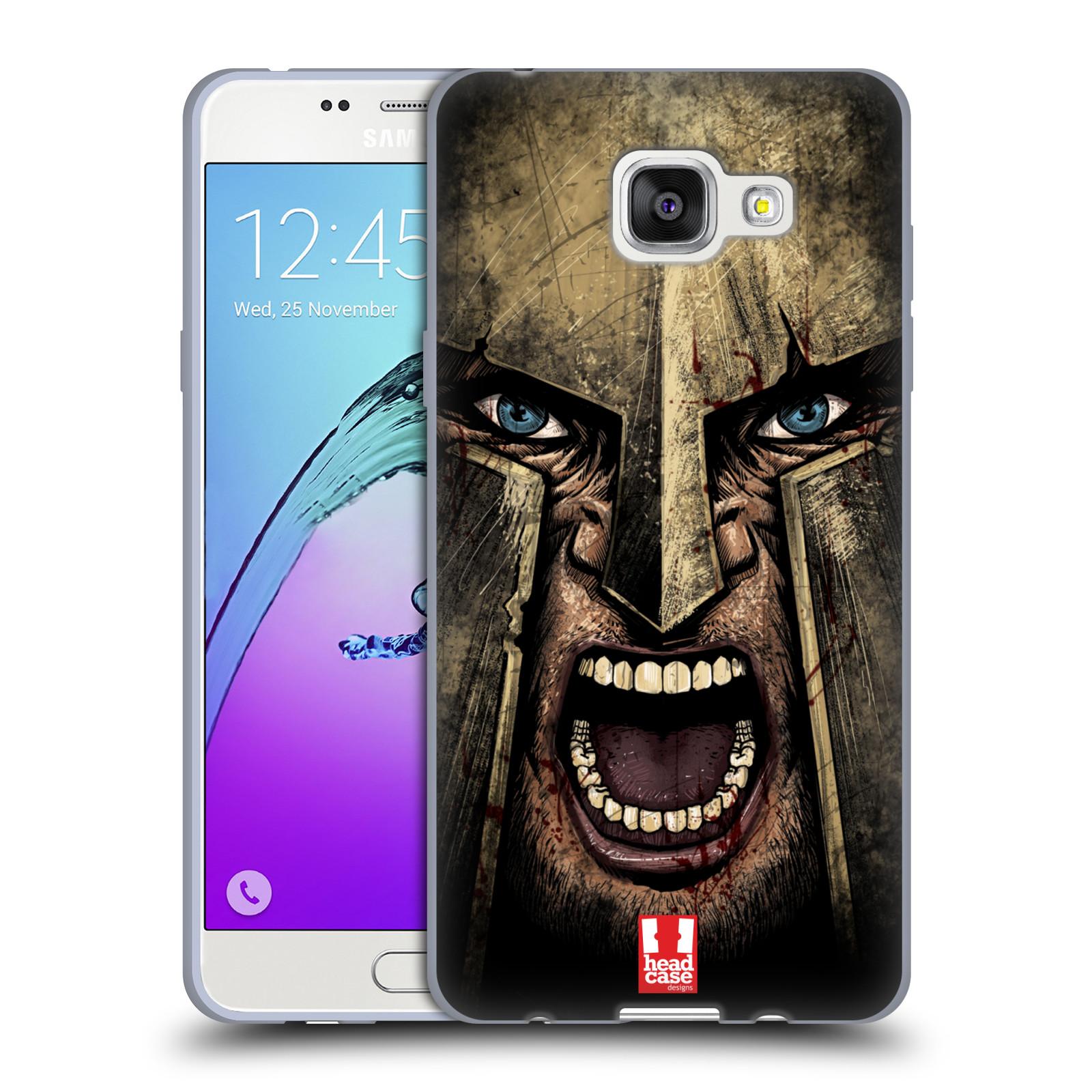 Silikonové pouzdro na mobil Samsung Galaxy A5 (2016) - Head Case - Řvoucí válečník