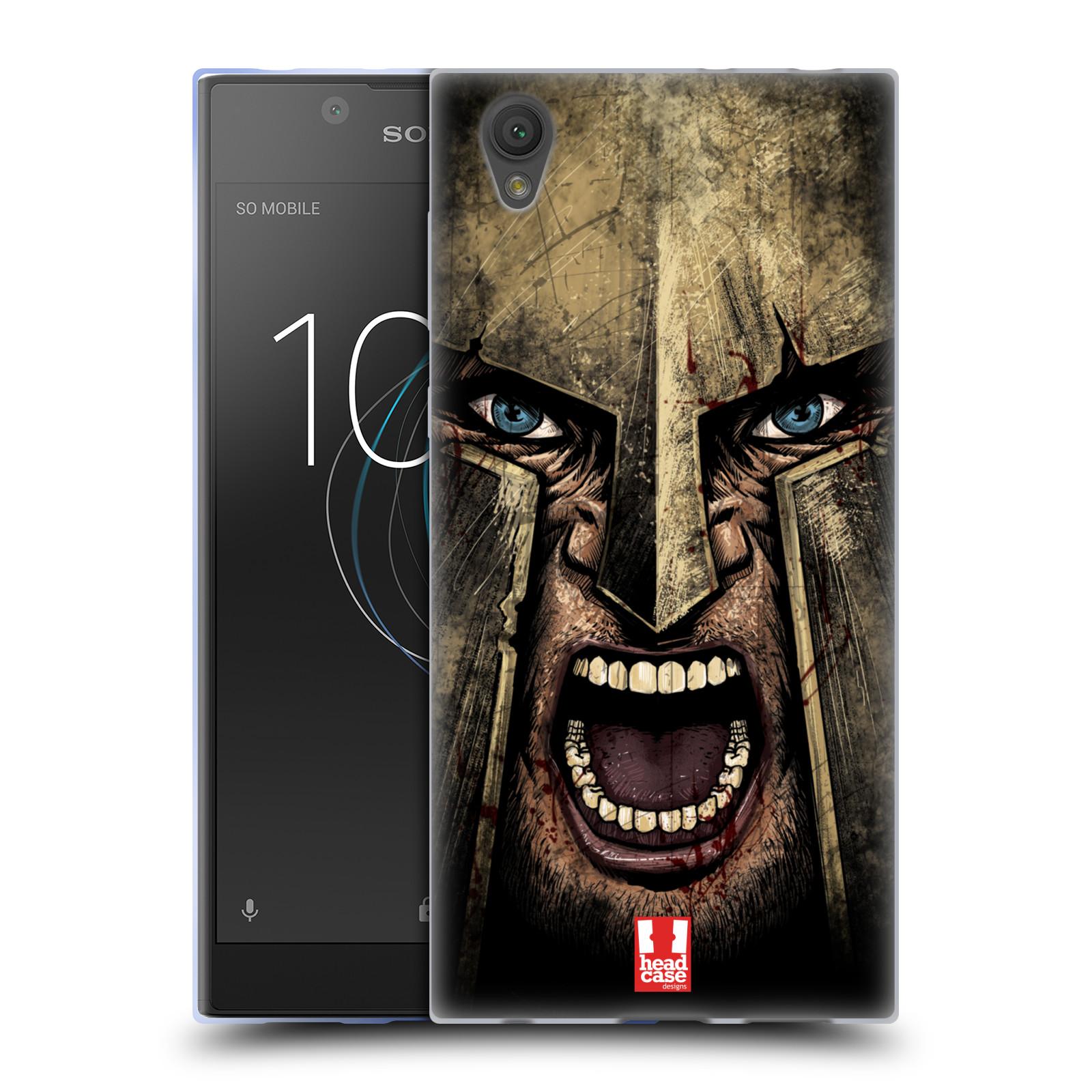 Silikonové pouzdro na mobil Sony Xperia L1 - Head Case - Řvoucí válečník