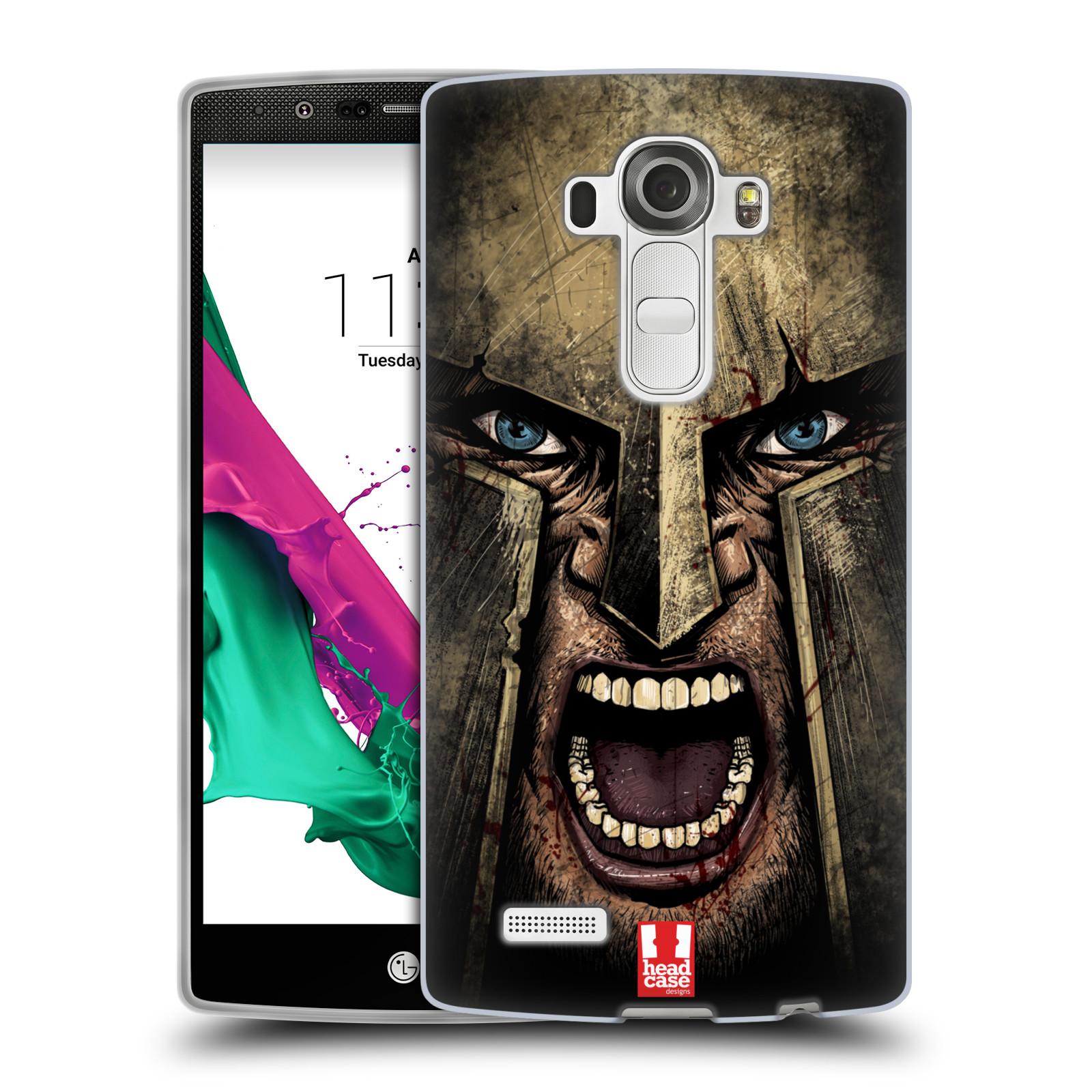 Silikonové pouzdro na mobil LG G4 - Head Case - Řvoucí válečník