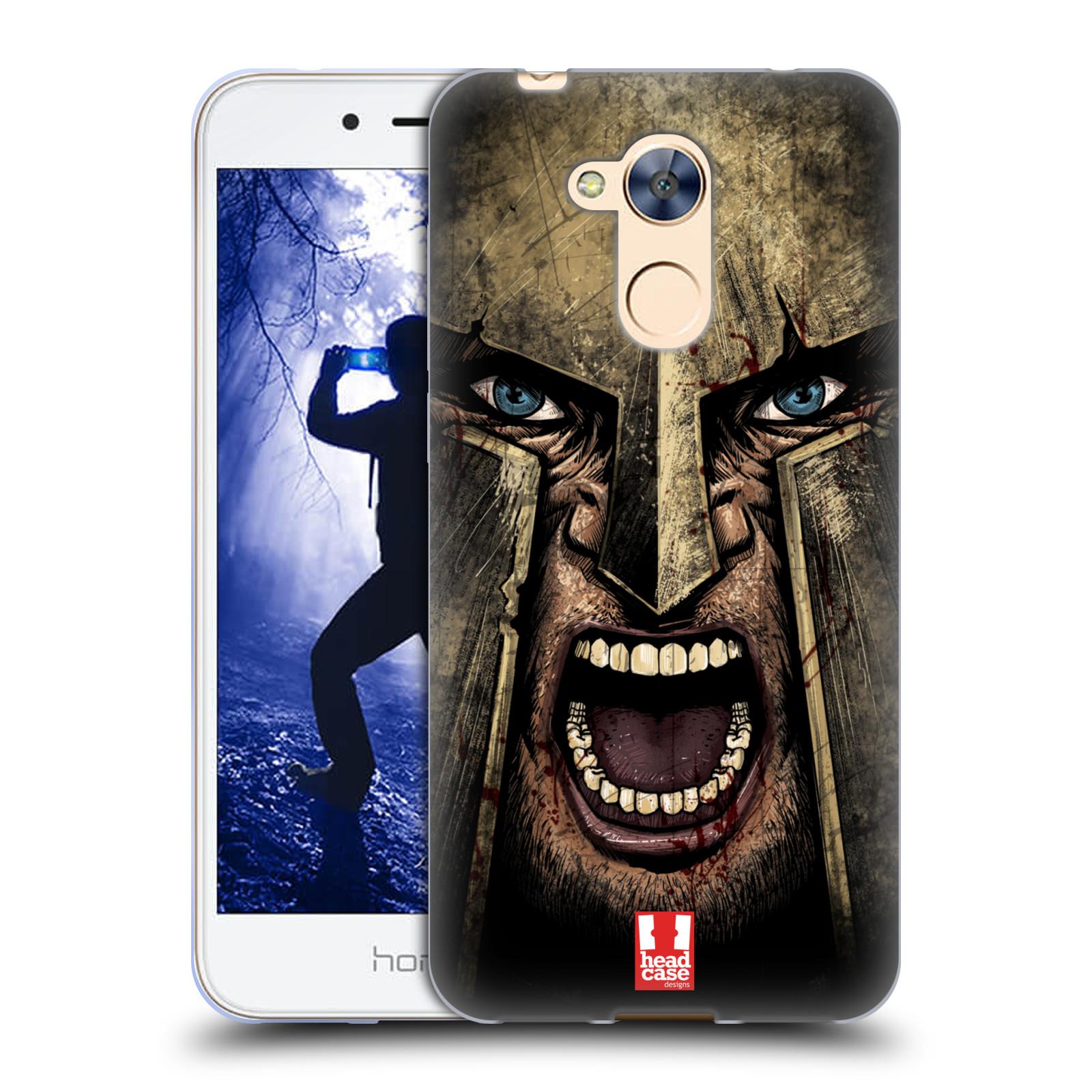 Silikonové pouzdro na mobil Honor 6A - Head Case - Řvoucí válečník