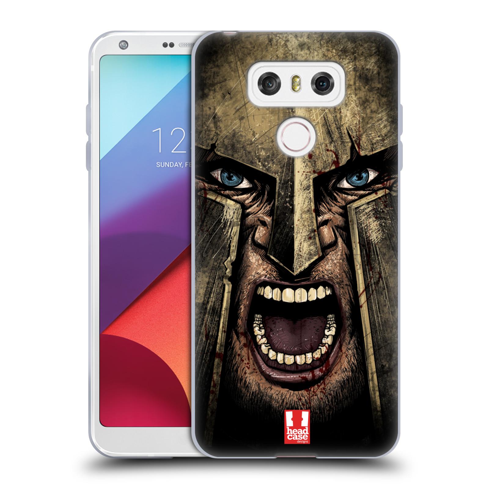 Silikonové pouzdro na mobil LG G6 - Head Case - Řvoucí válečník