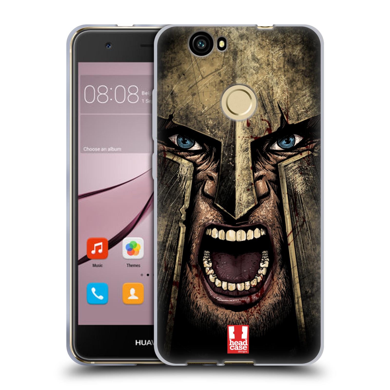 Silikonové pouzdro na mobil Huawei Nova - Head Case - Řvoucí válečník
