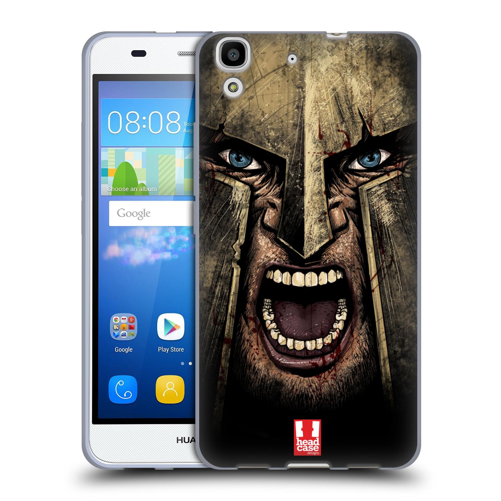 Silikonové pouzdro na mobil Huawei Y6 - Head Case - Řvoucí válečník