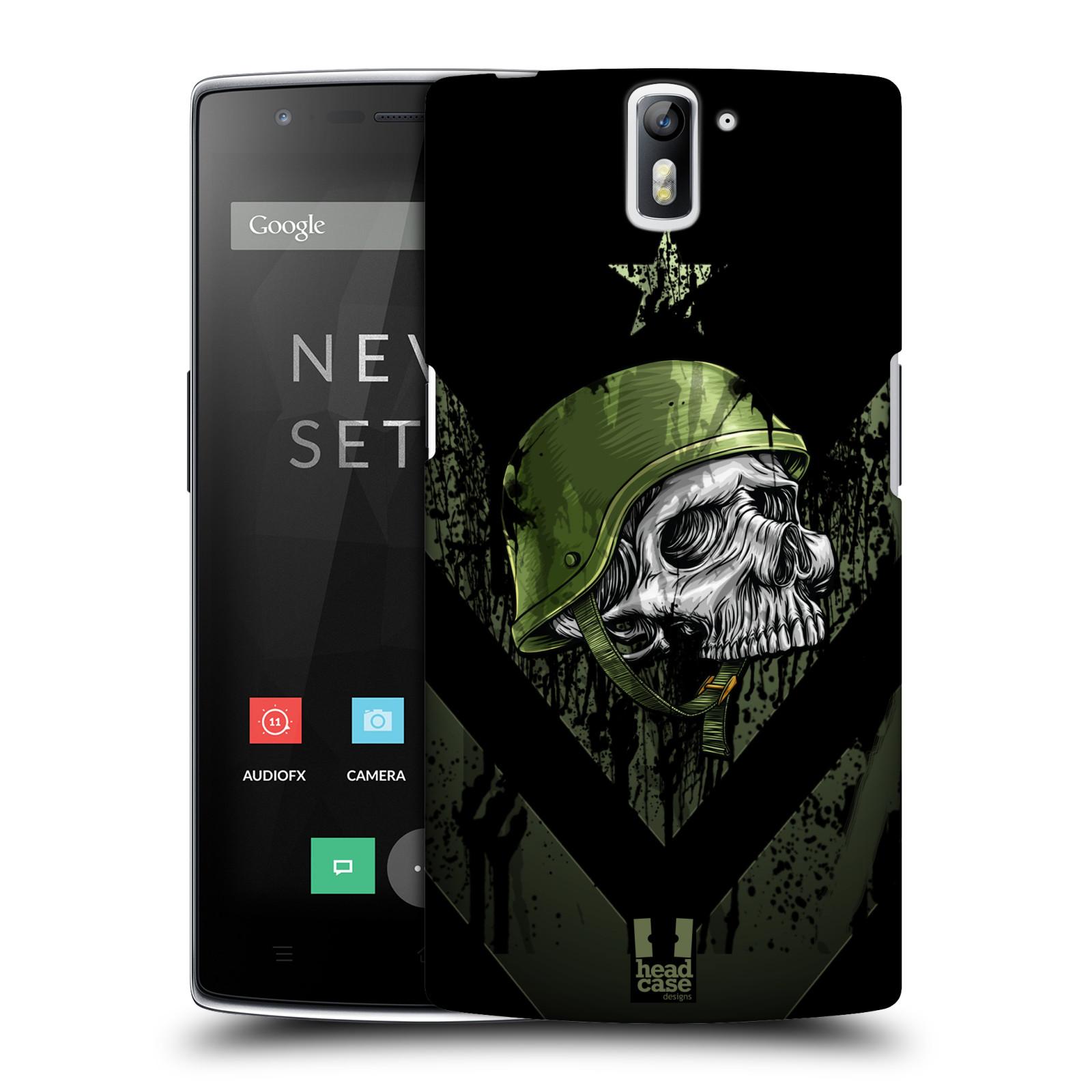 Plastové pouzdro na mobil OnePlus One HEAD CASE LEBKA ONE MAN (Kryt či obal na mobilní telefon OnePlus One)