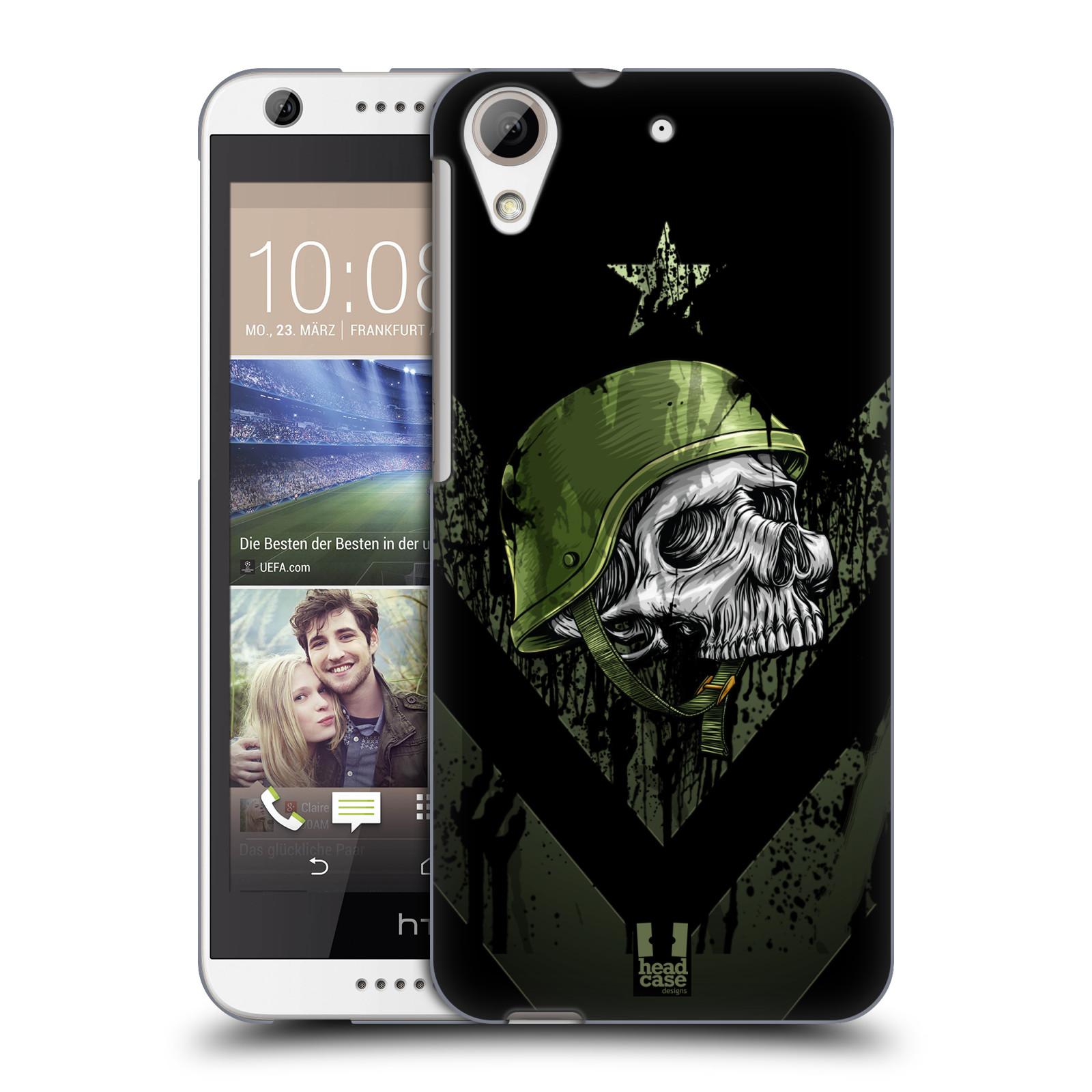 Plastové pouzdro na mobil HTC Desire 626 / 626G HEAD CASE LEBKA ONE MAN (Kryt či obal na mobilní telefon HTC Desire 626G Dual SIM a HTC Desire 626)