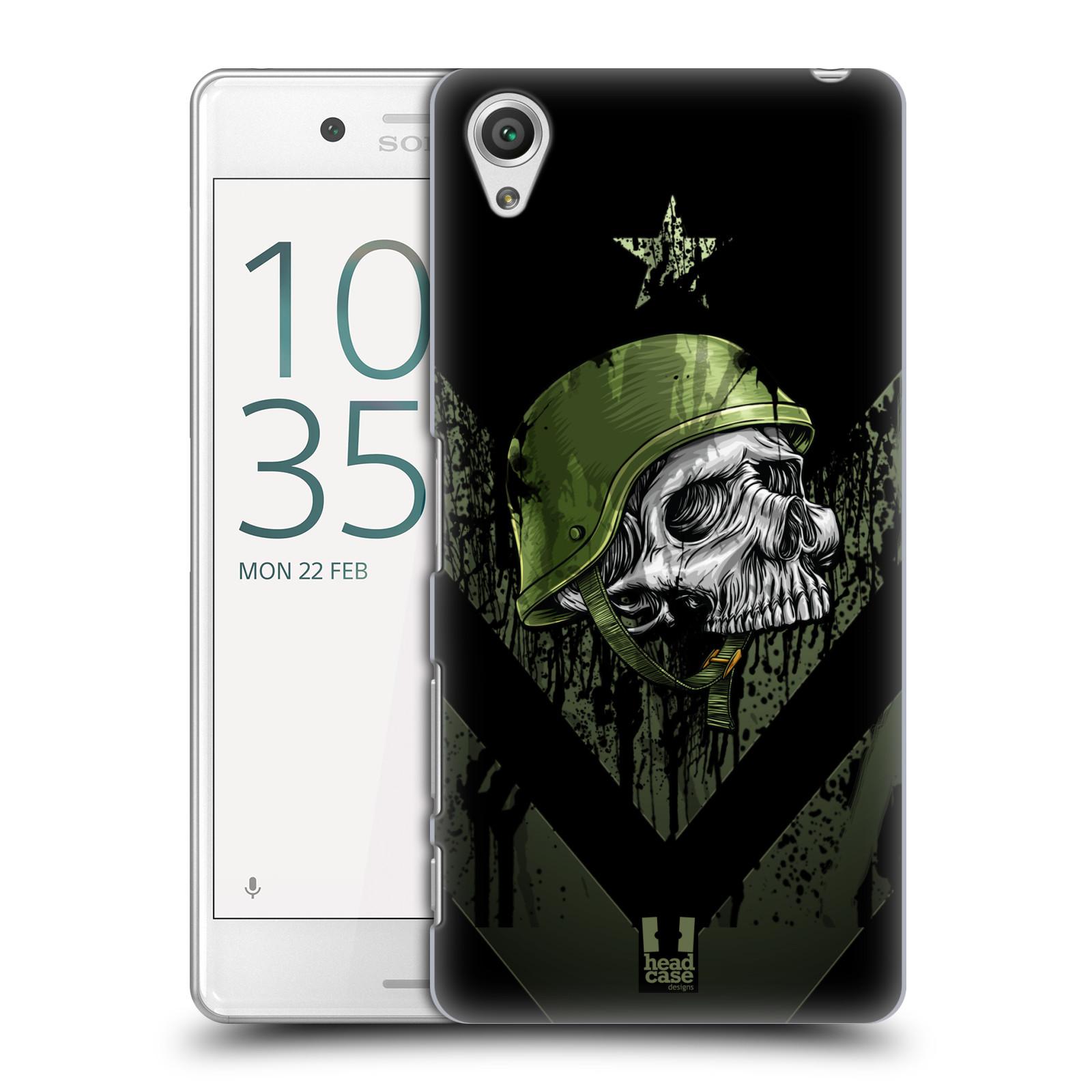 Plastové pouzdro na mobil Sony Xperia X Performance HEAD CASE LEBKA ONE MAN