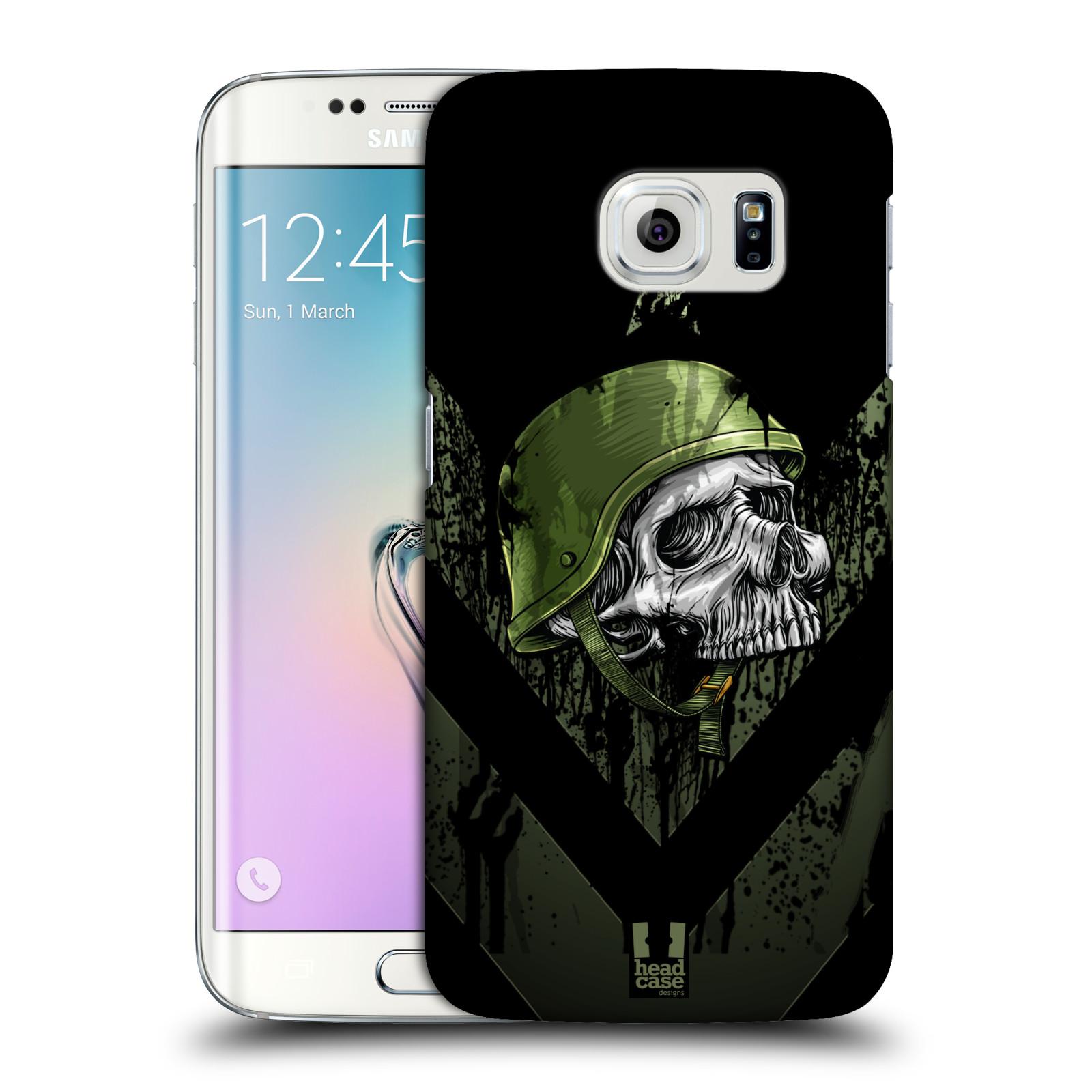 Plastové pouzdro na mobil Samsung Galaxy S6 Edge HEAD CASE LEBKA ONE MAN (Kryt či obal na mobilní telefon Samsung Galaxy S6 Edge SM-G925F)
