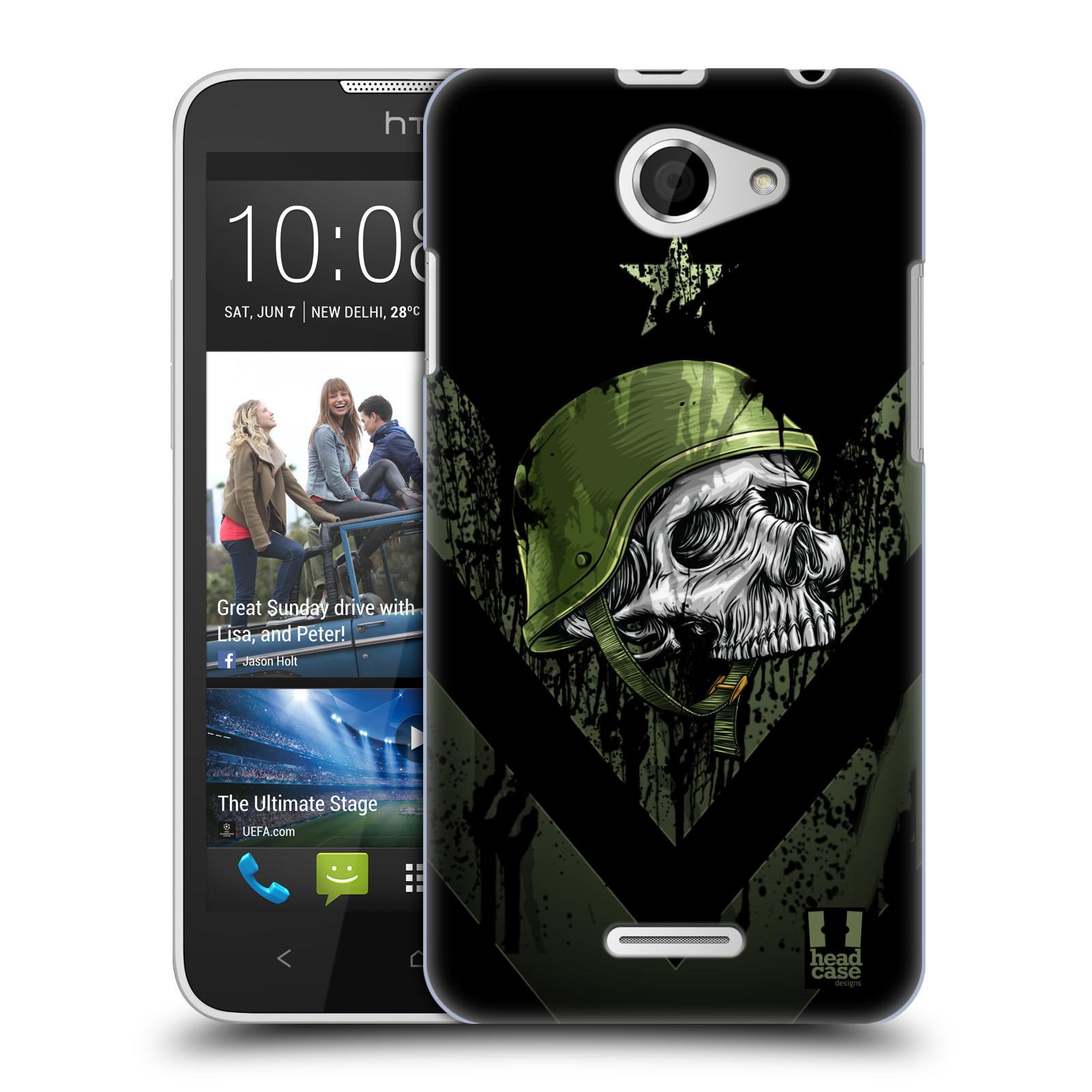Plastové pouzdro na mobil HTC Desire 516 HEAD CASE LEBKA ONE MAN (Kryt či obal na mobilní telefon HTC Desire 516 Dual SIM)