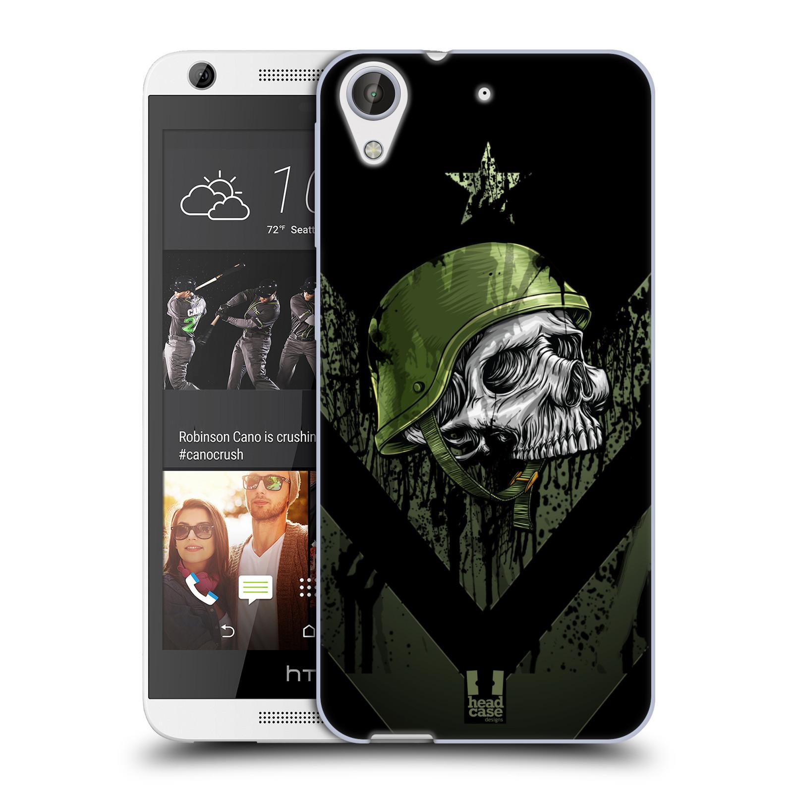 Silikonové pouzdro na mobil HTC Desire 626 / 626G HEAD CASE LEBKA ONE MAN (Silikonový kryt či obal na mobilní telefon HTC Desire 626 a 626G Dual SIM)