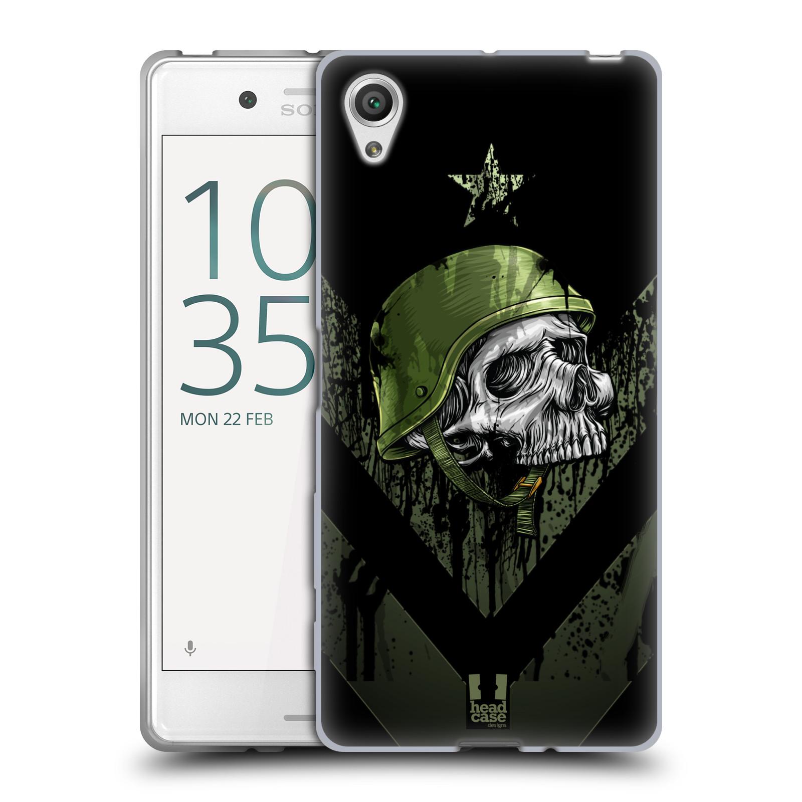 Silikonové pouzdro na mobil Sony Xperia X HEAD CASE LEBKA ONE MAN