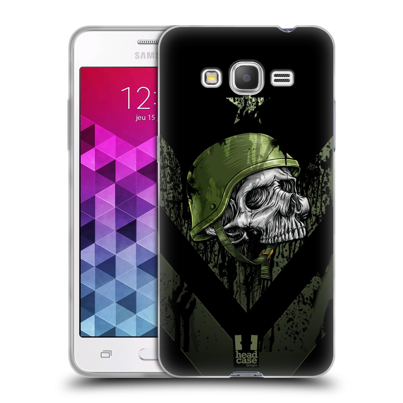 Silikonové pouzdro na mobil Samsung Galaxy Grand Prime HEAD CASE LEBKA ONE MAN