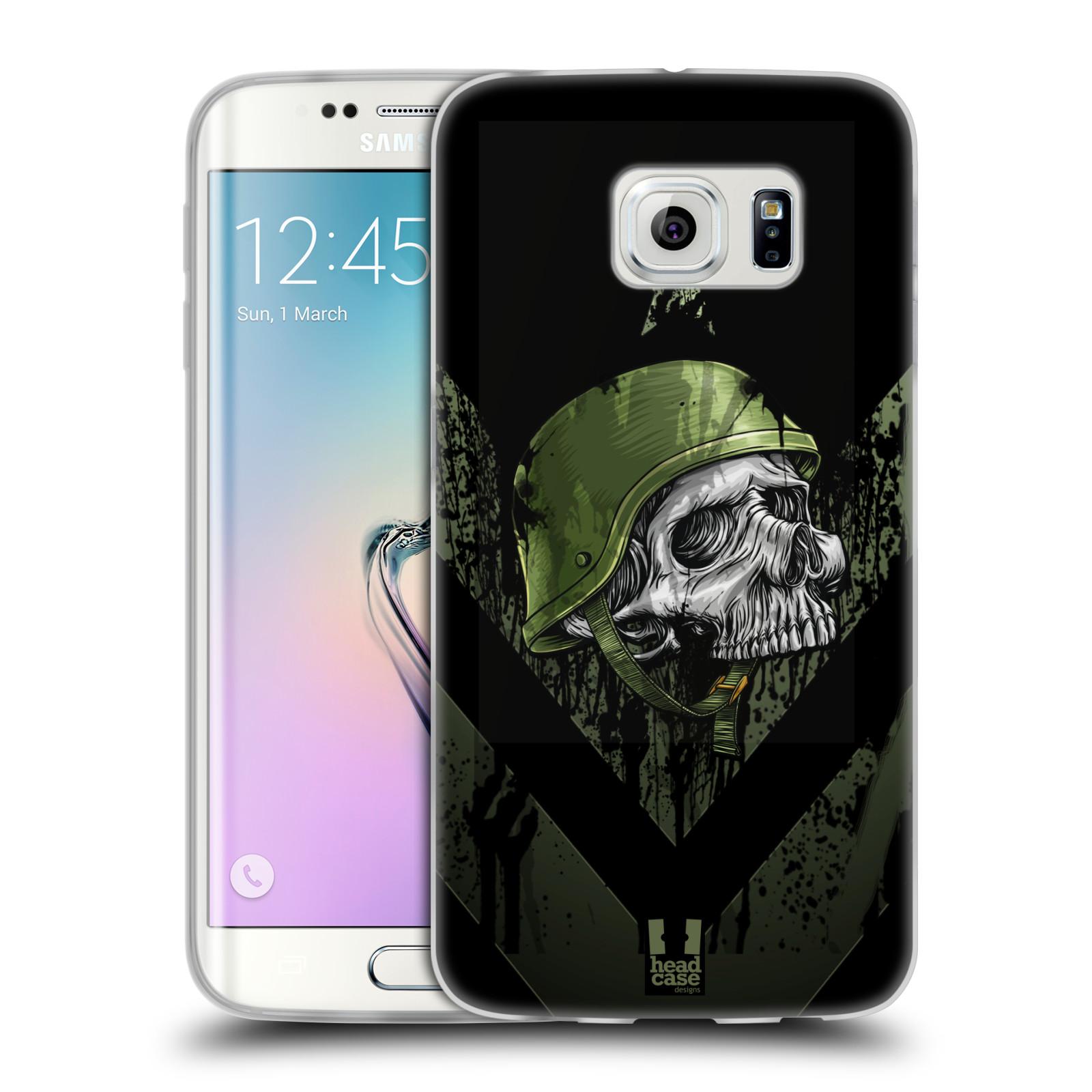 Silikonové pouzdro na mobil Samsung Galaxy S6 Edge HEAD CASE LEBKA ONE MAN (Silikonový kryt či obal na mobilní telefon Samsung Galaxy S6 Edge SM-G925F)