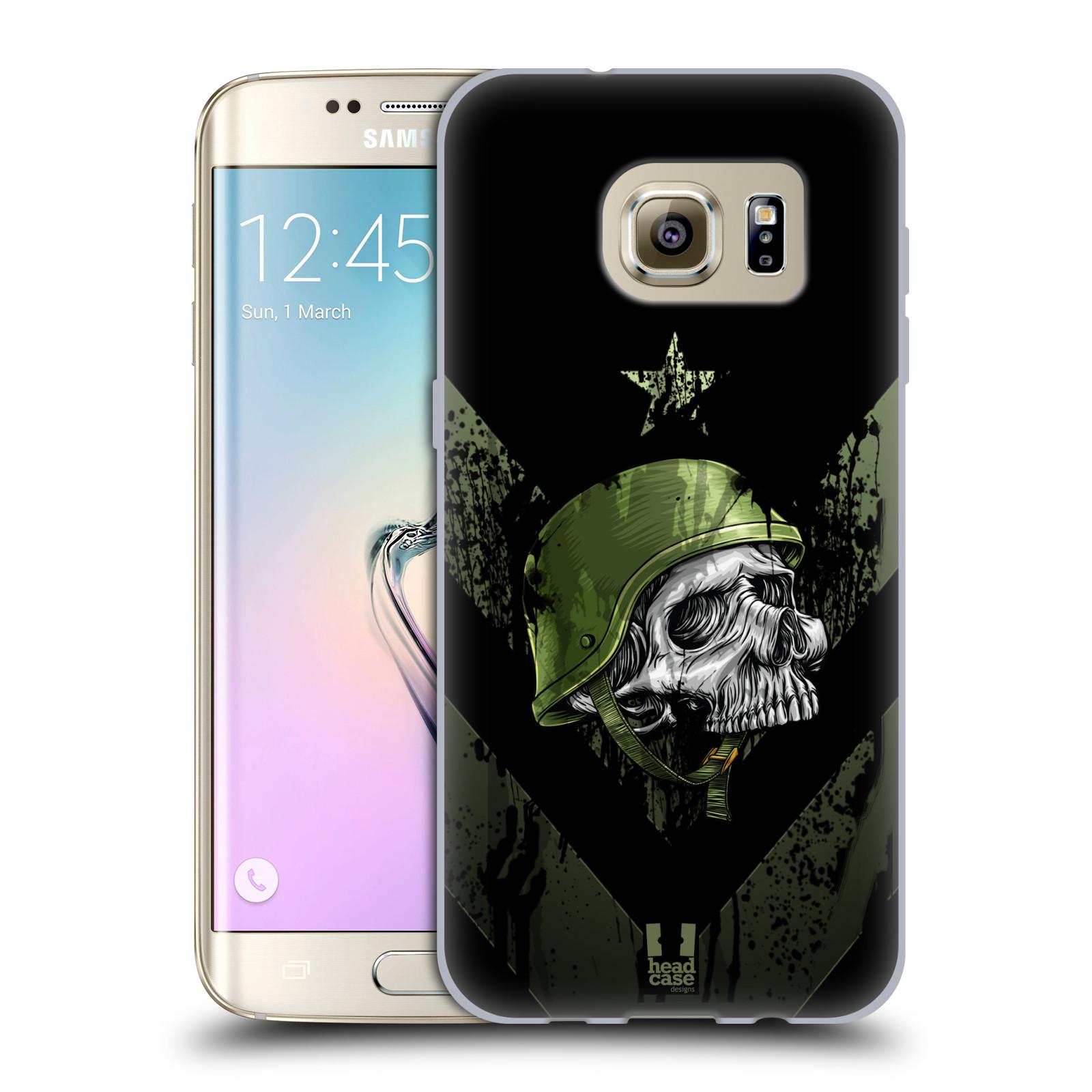 Silikonové pouzdro na mobil Samsung Galaxy S7 Edge HEAD CASE LEBKA ONE MAN (Silikonový kryt či obal na mobilní telefon Samsung Galaxy S7 Edge SM-G935F)
