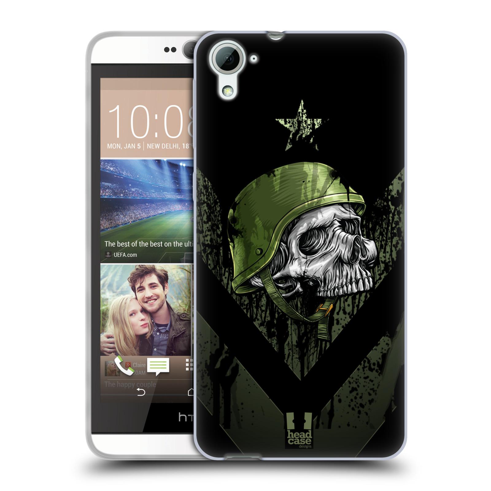 Silikonové pouzdro na mobil HTC Desire 826 HEAD CASE LEBKA ONE MAN (Silikonový kryt či obal na mobilní telefon HTC Desire 826 Dual SIM)