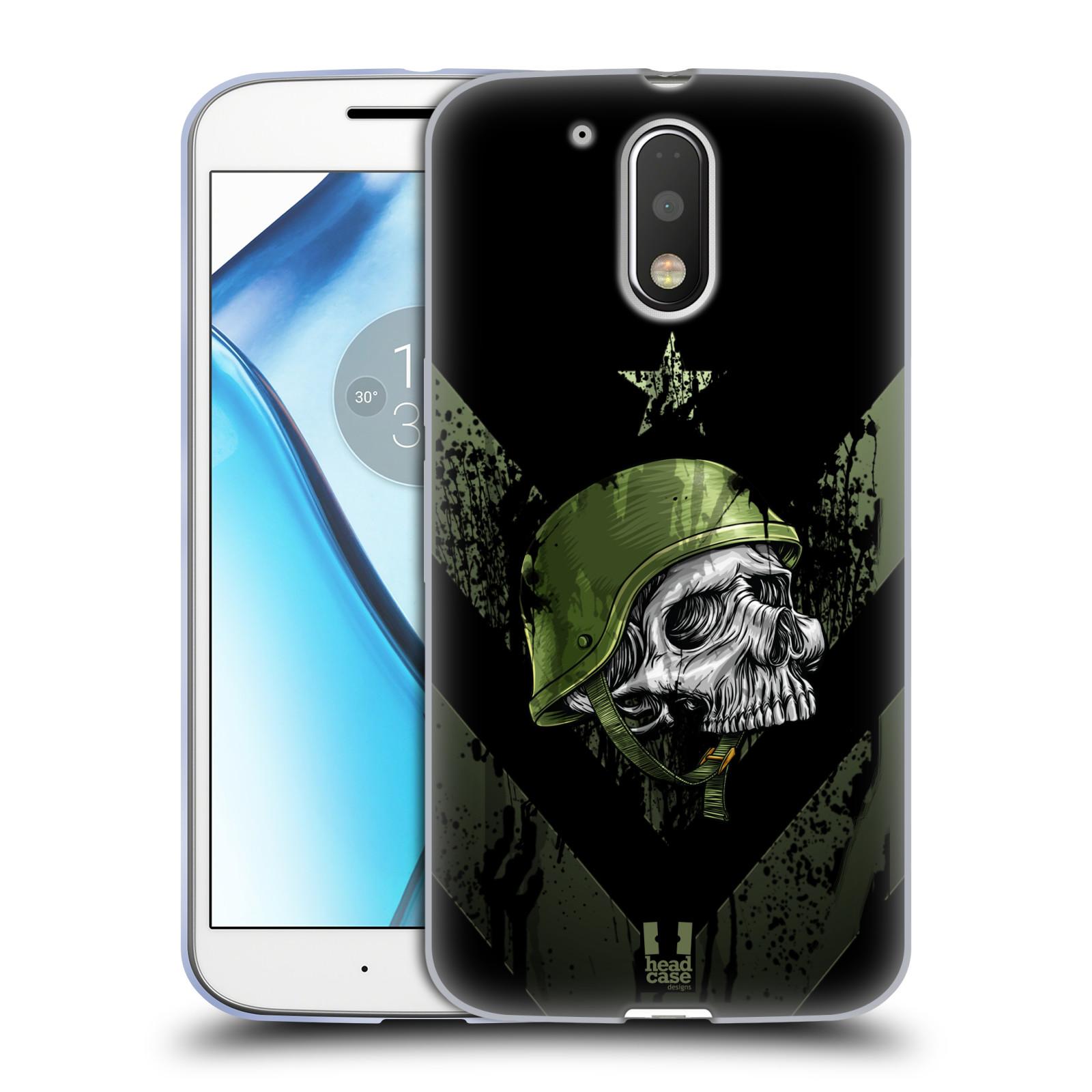 Silikonové pouzdro na mobil Lenovo Moto G4 HEAD CASE LEBKA ONE MAN (Silikonový kryt či obal na mobilní telefon Lenovo Moto G4 (Single a Dual SIM))