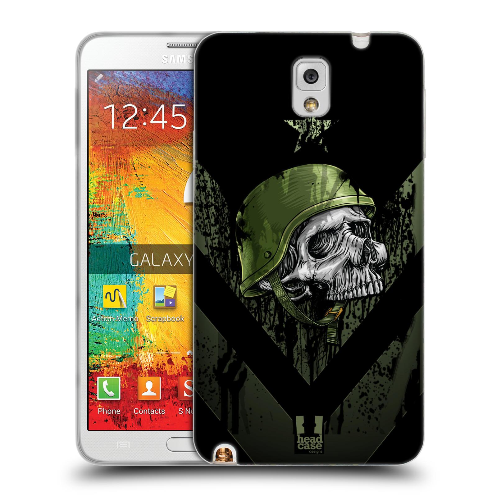 Silikonové pouzdro na mobil Samsung Galaxy Note 3 HEAD CASE LEBKA ONE MAN