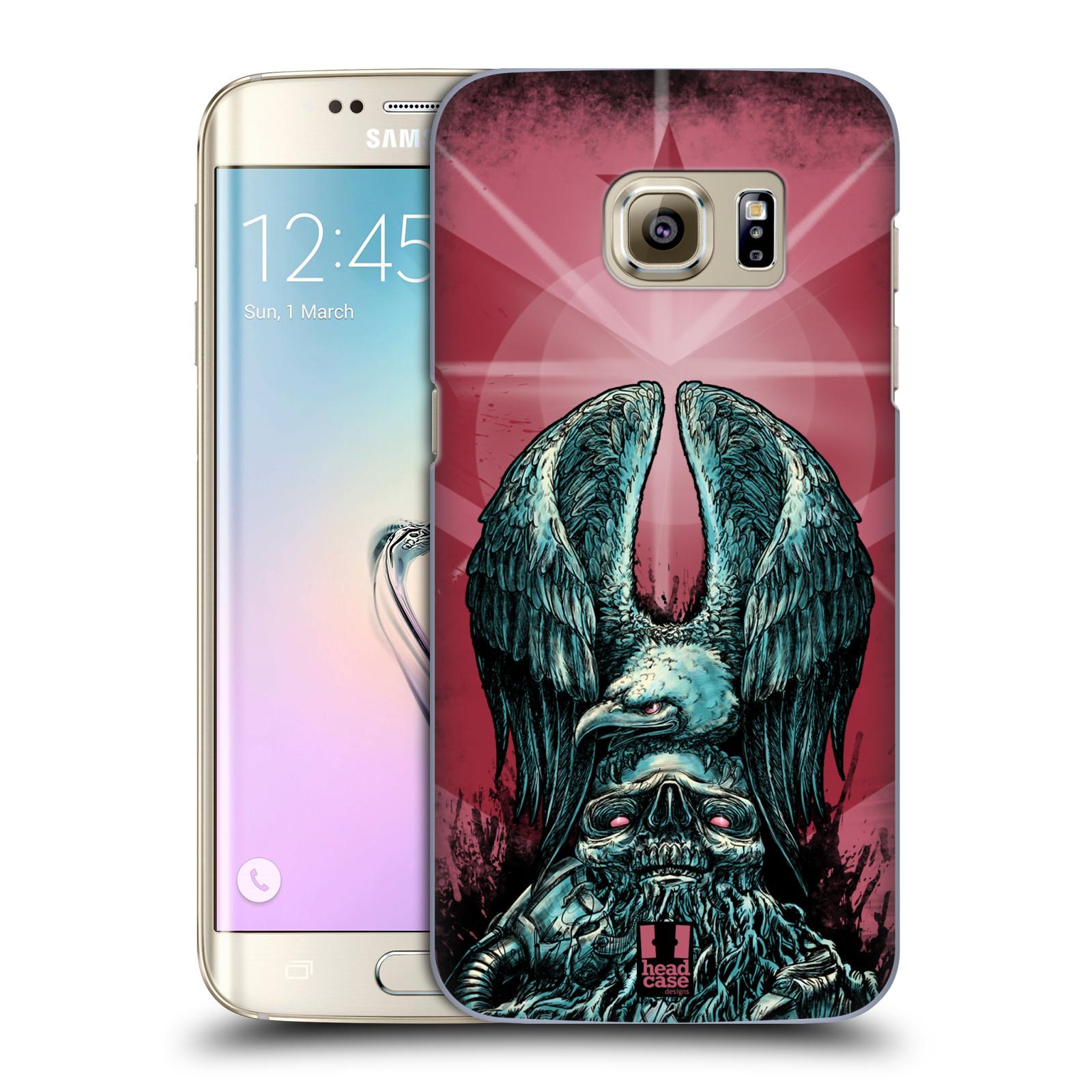 Plastové pouzdro na mobil Samsung Galaxy S7 Edge HEAD CASE OREL PATRIOIC (Kryt či obal na mobilní telefon Samsung Galaxy S7 Edge SM-G935F)