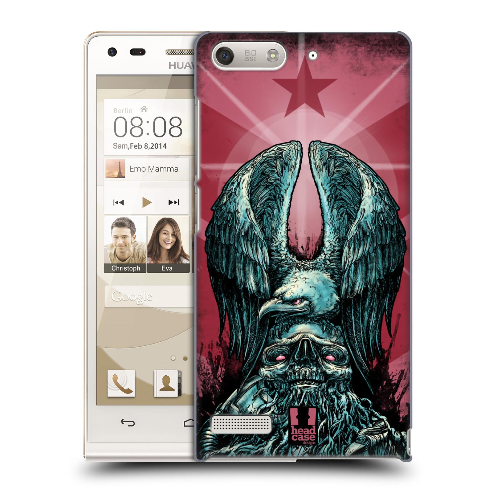 Plastové pouzdro na mobil Huawei Ascend G6 HEAD CASE OREL PATRIOIC (Kryt či obal na mobilní telefon Huawei Ascend G6 bez LTE)