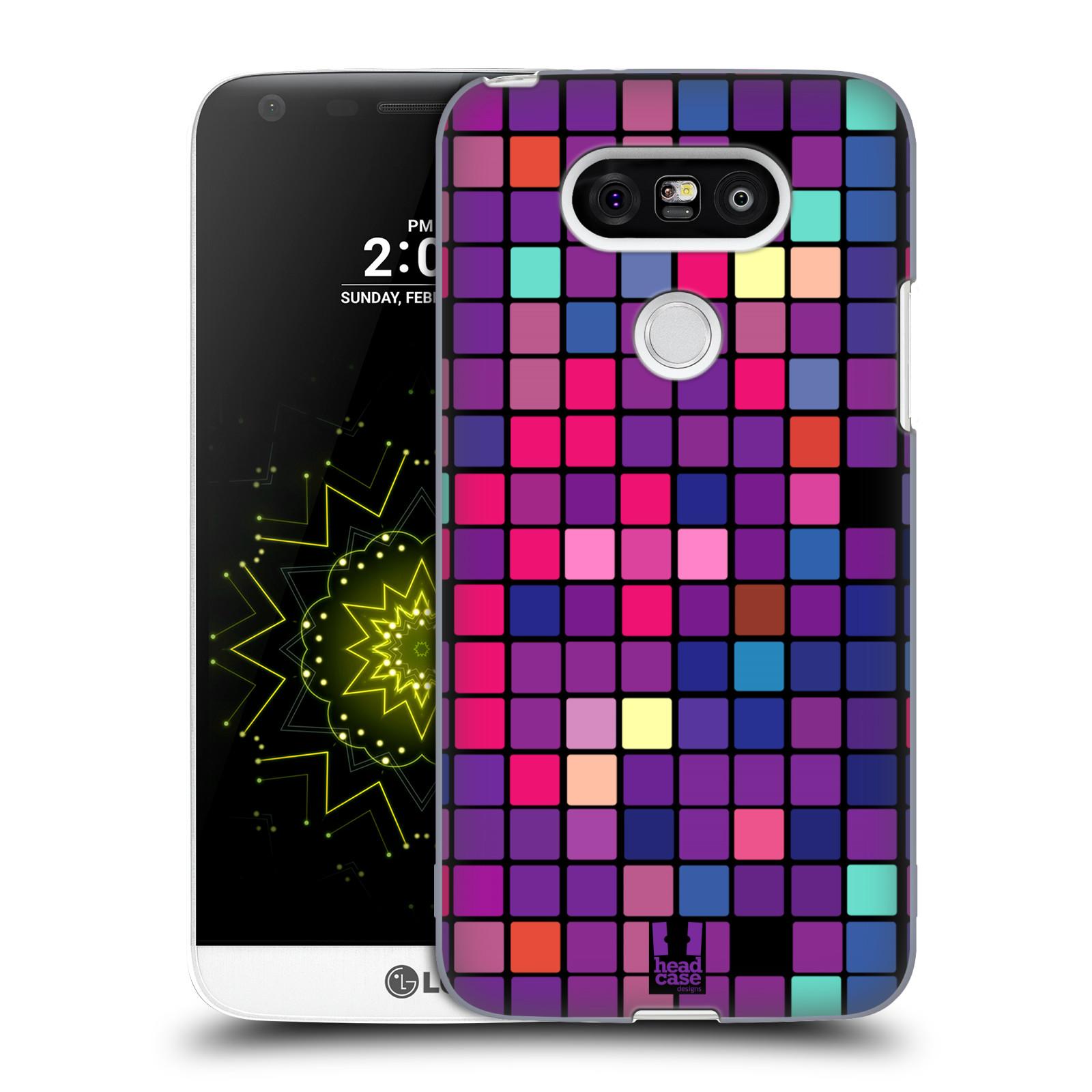 Plastové pouzdro na mobil LG G5 HEAD CASE Disco mozaika