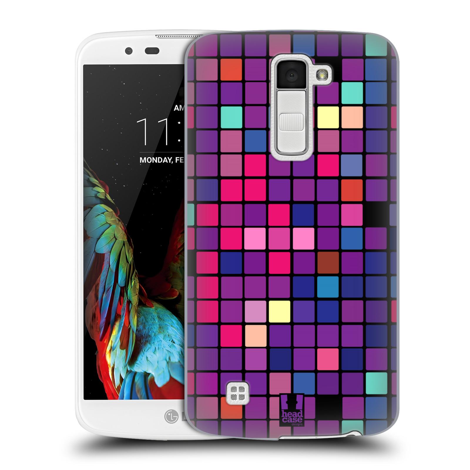 Plastové pouzdro na mobil LG K10 HEAD CASE Disco mozaika