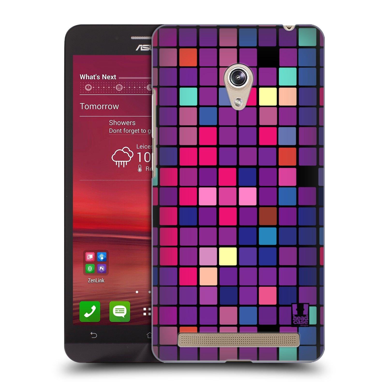 Plastové pouzdro na mobil Asus Zenfone 6 HEAD CASE Disco mozaika (Kryt či obal na mobilní telefon Asus Zenfone 6 A600CG / A601CG)