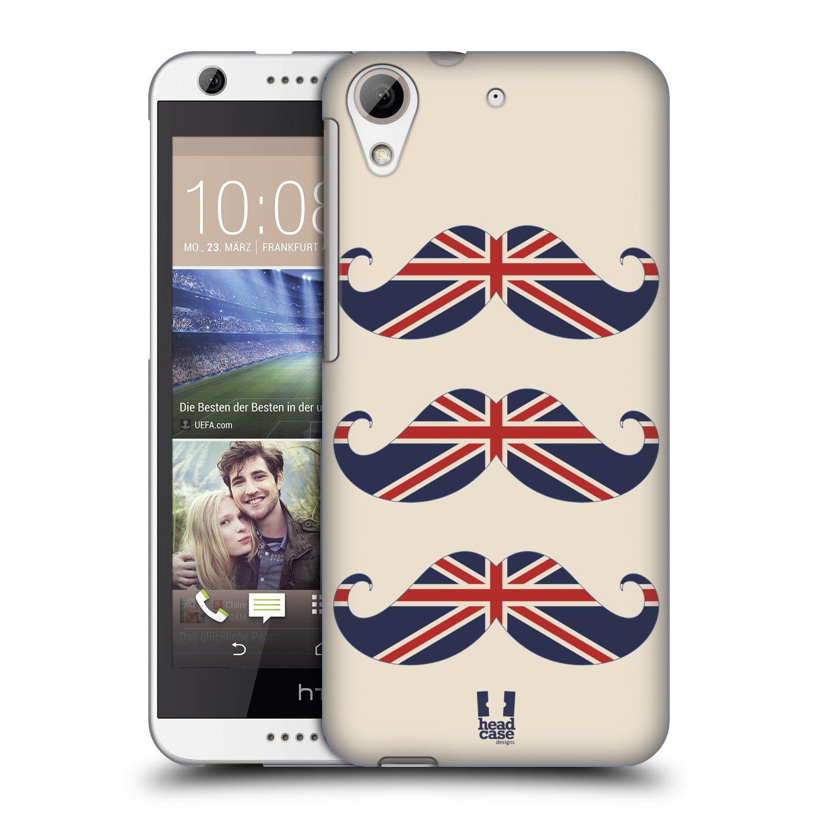 Plastové pouzdro na mobil HTC Desire 626 / 626G HEAD CASE BRITSKÉ KNÍRY (Plastový kryt či obal na mobilní telefon HTC Desire 626G Dual SIM a HTC Desire 626)